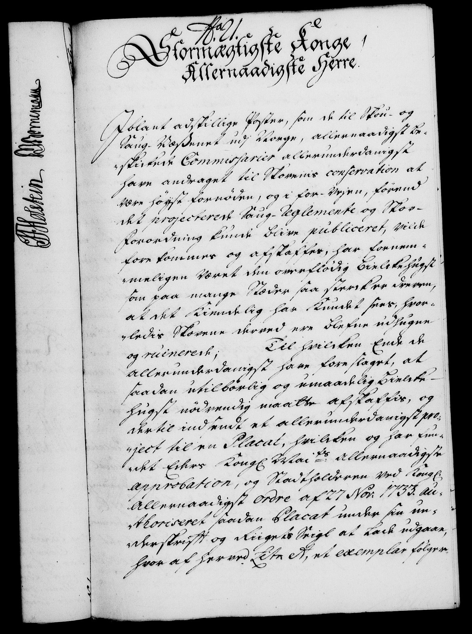 RA, Rentekammeret, Kammerkanselliet, G/Gf/Gfa/L0019: Norsk relasjons- og resolusjonsprotokoll (merket RK 52.19), 1736, s. 149