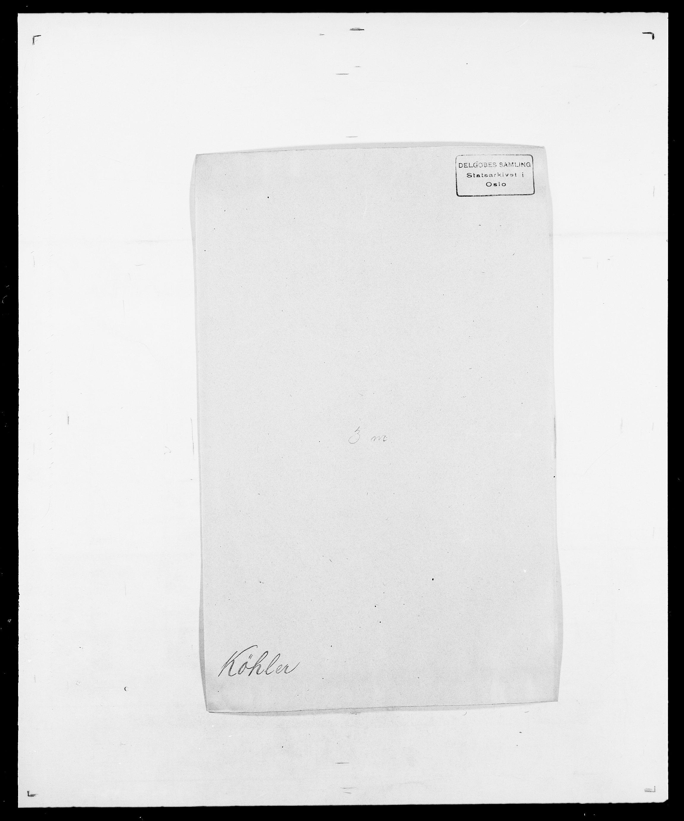 SAO, Delgobe, Charles Antoine - samling, D/Da/L0022: Krog - Lasteen, s. 299