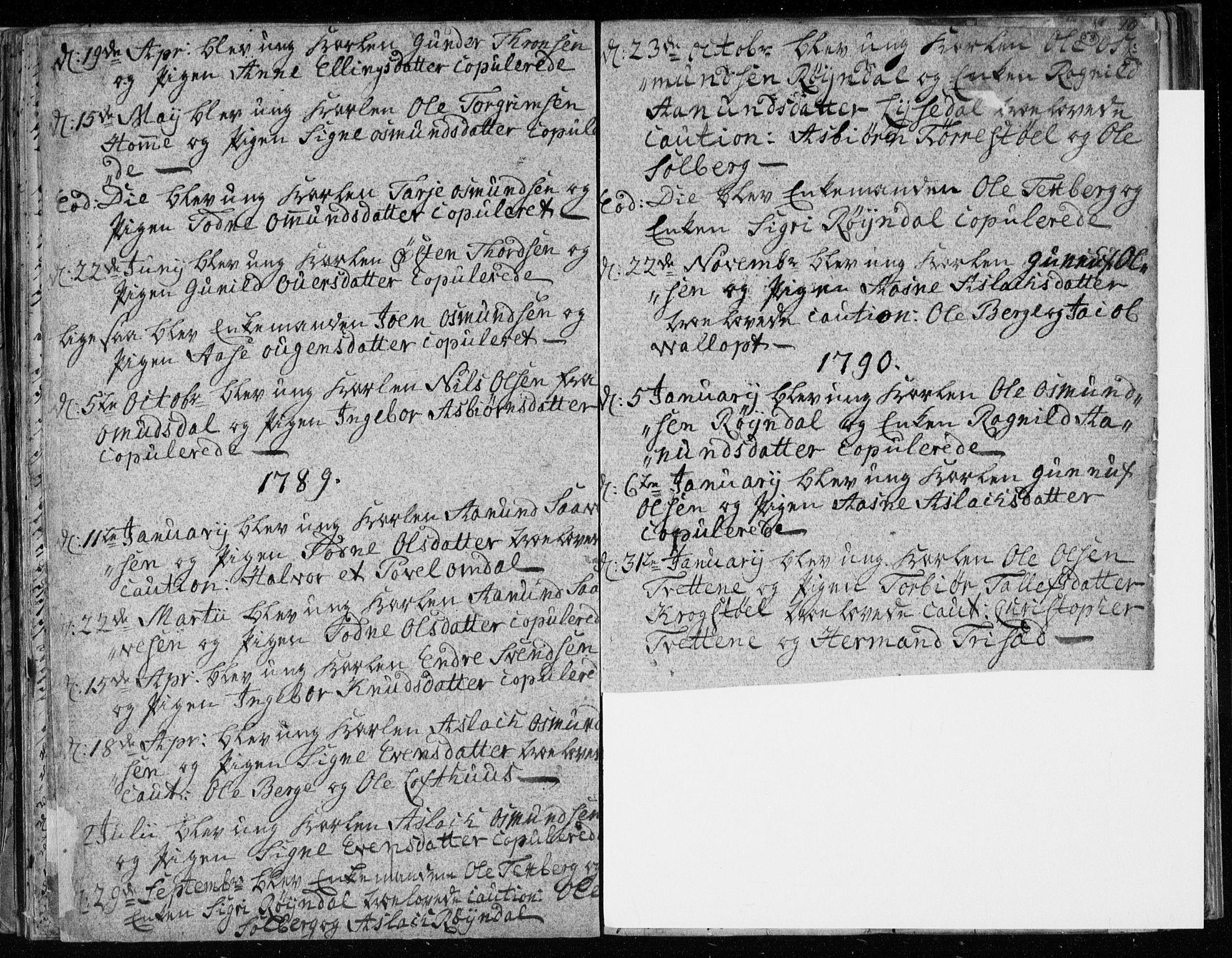 SAKO, Lårdal kirkebøker, F/Fa/L0003: Ministerialbok nr. I 3, 1754-1790, s. 58