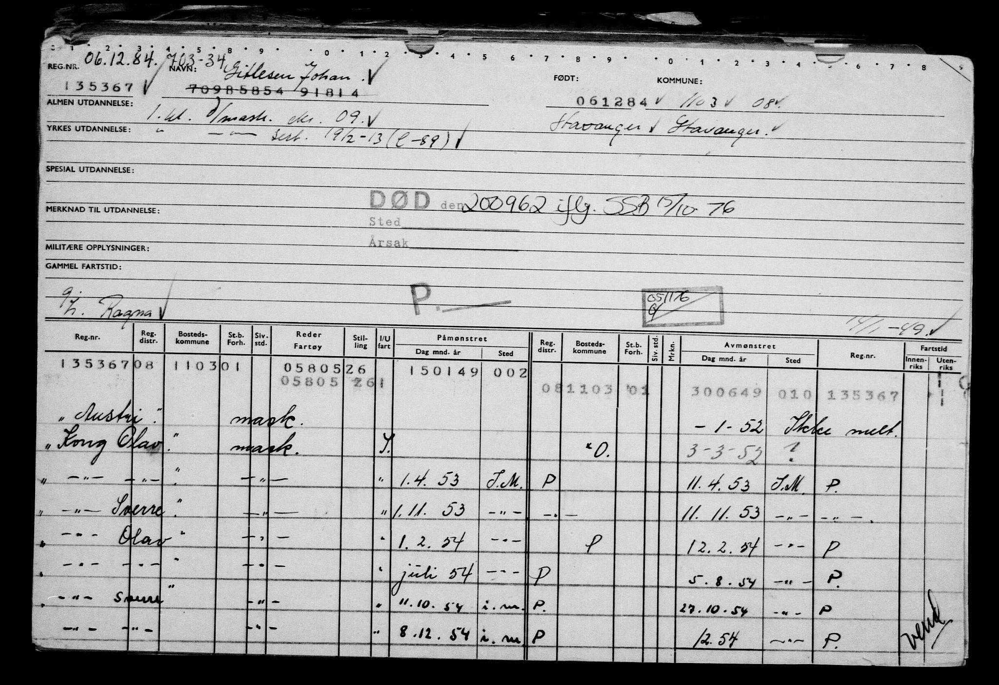 RA, Direktoratet for sjømenn, G/Gb/L0002: Hovedkort, 1883-1885, s. 472