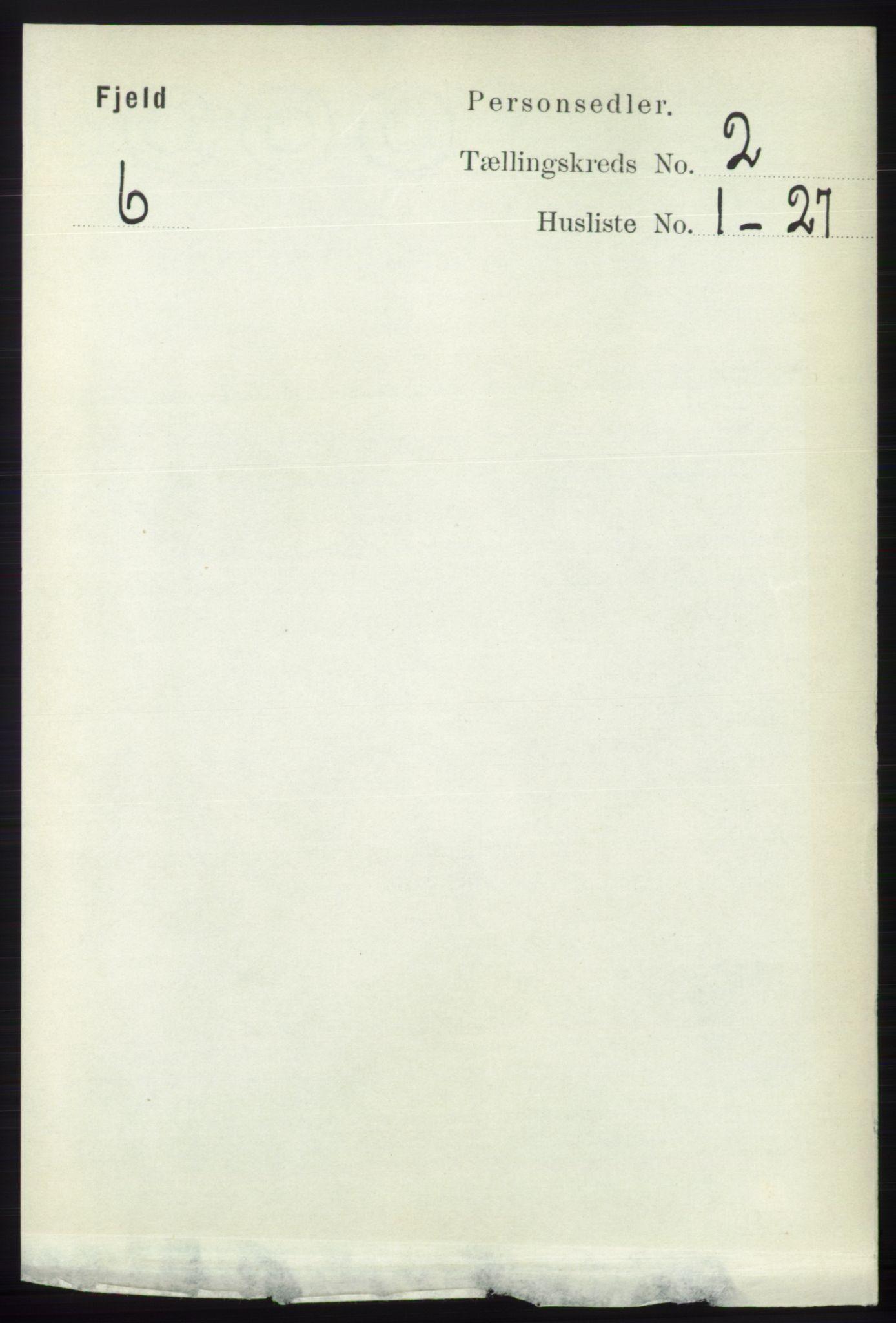 RA, Folketelling 1891 for 1246 Fjell herred, 1891, s. 696