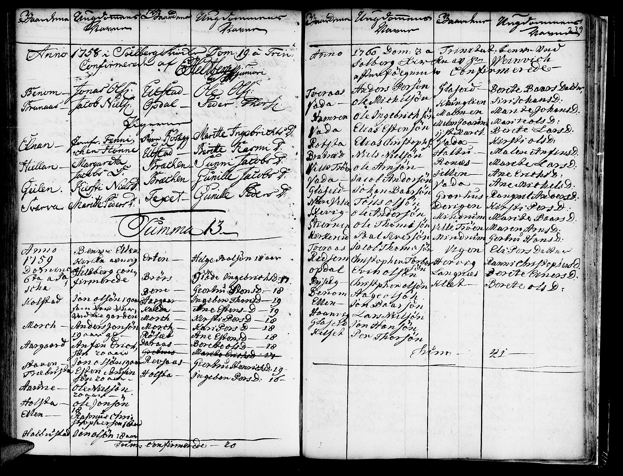 SAT, Ministerialprotokoller, klokkerbøker og fødselsregistre - Nord-Trøndelag, 741/L0385: Ministerialbok nr. 741A01, 1722-1815, s. 239