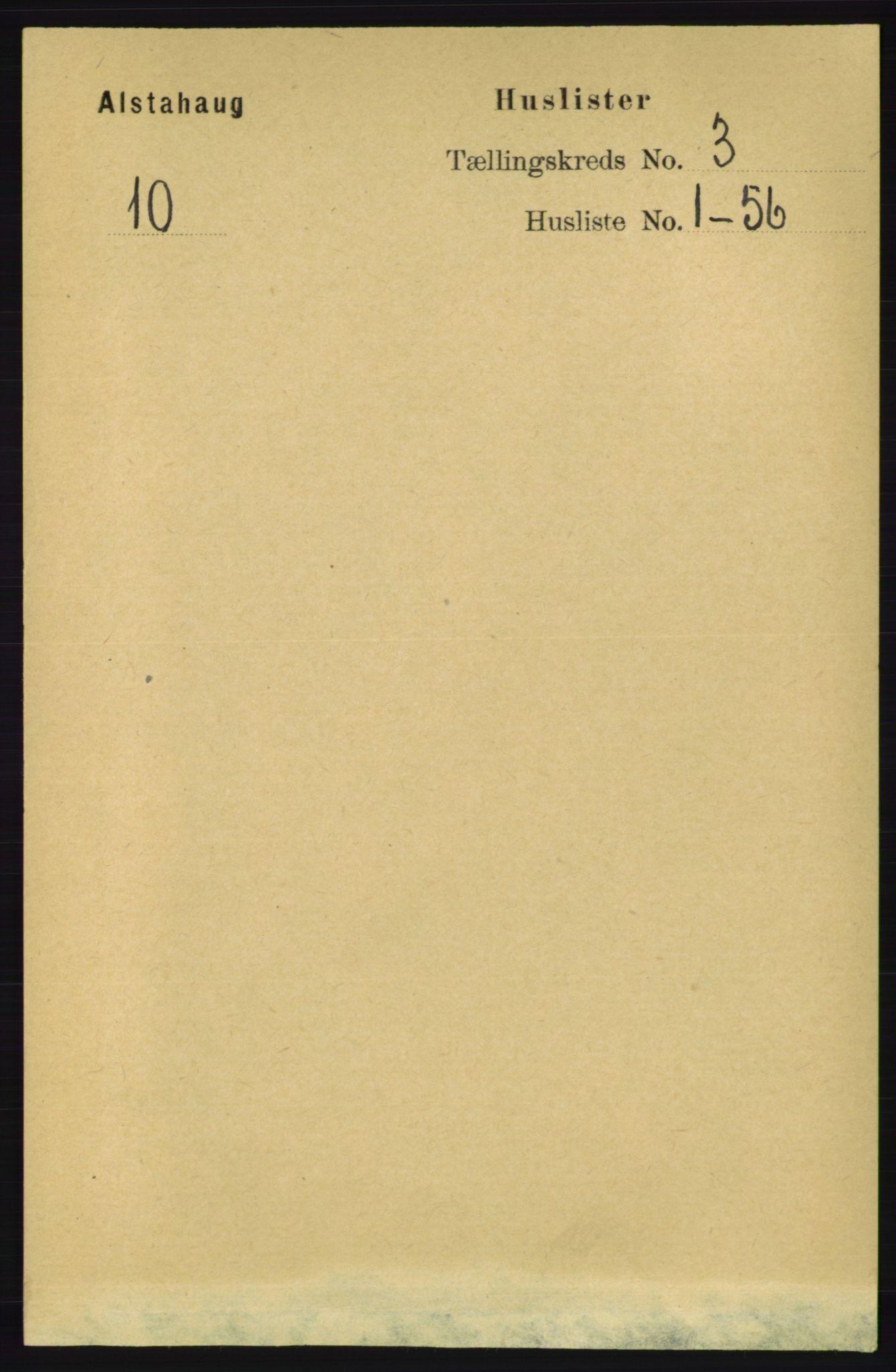 RA, Folketelling 1891 for 1820 Alstahaug herred, 1891, s. 1035