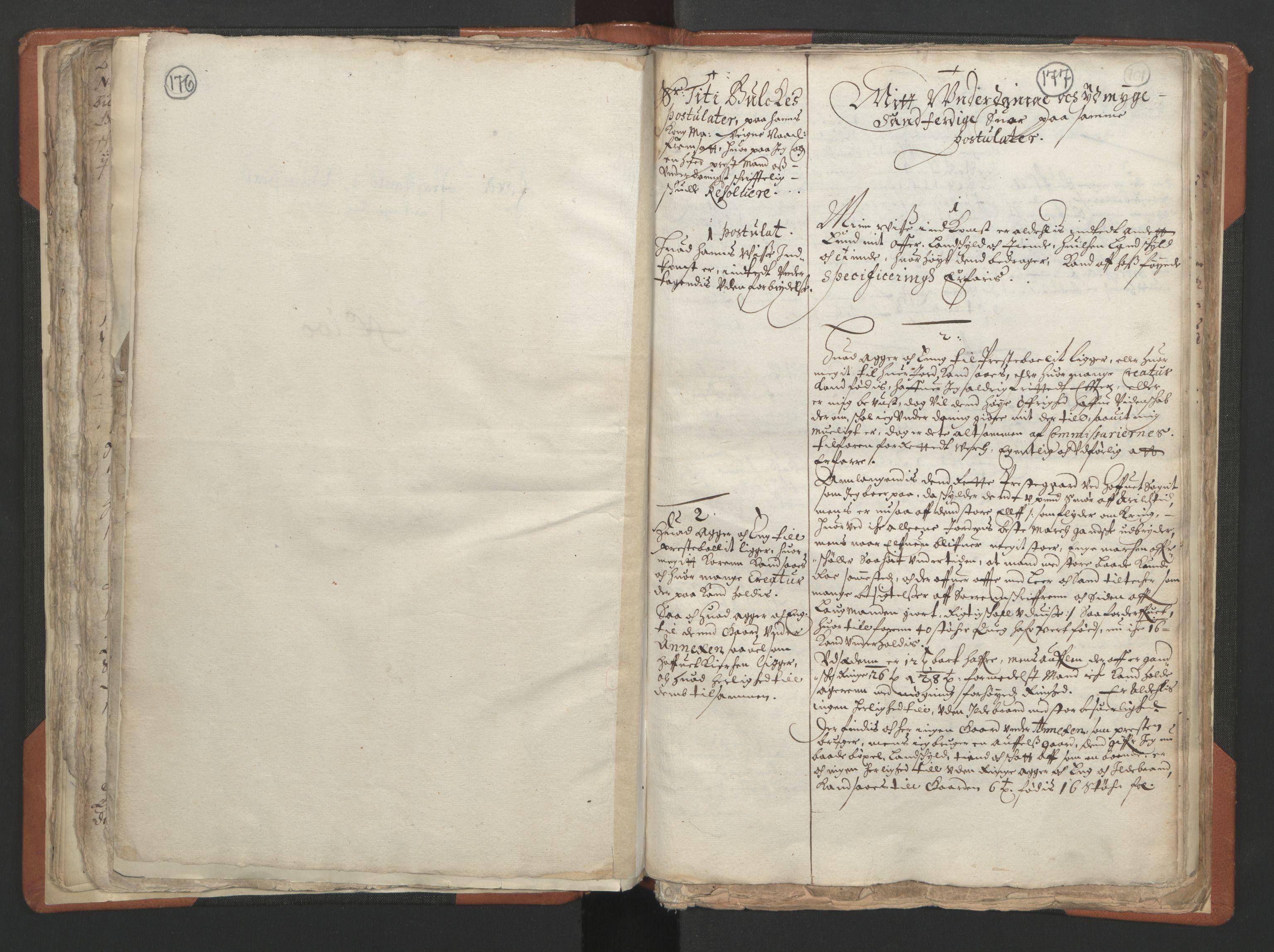 RA, Sogneprestenes manntall 1664-1666, nr. 24: Sunnfjord prosti, 1664-1666, s. 176-177