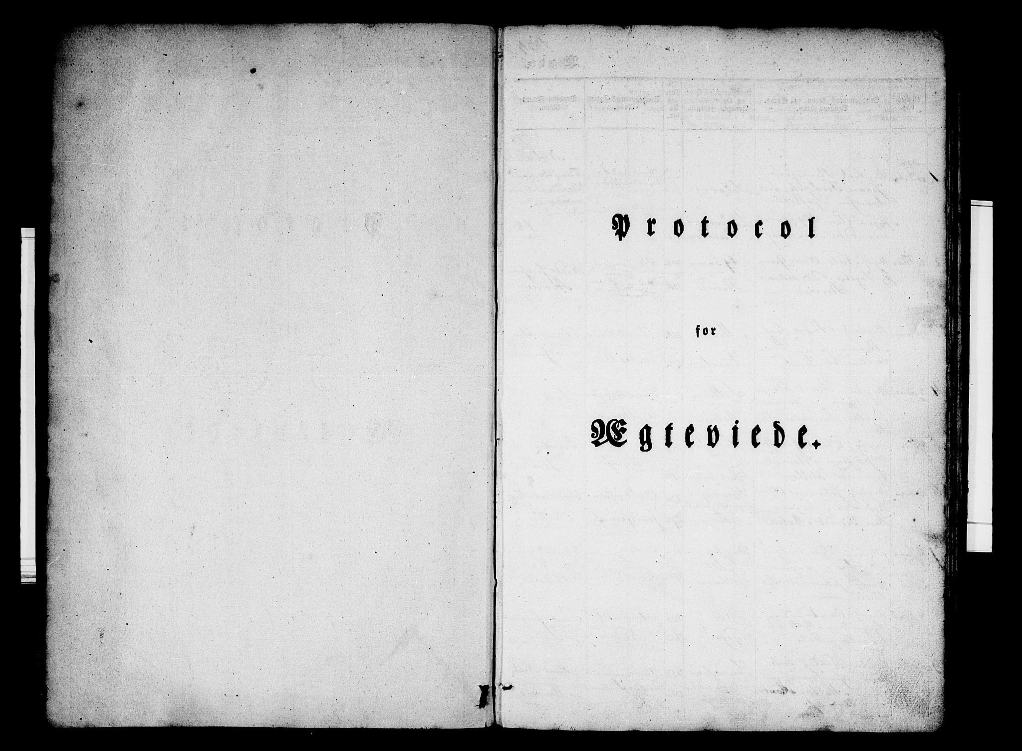 SAB, Hafslo Sokneprestembete, Ministerialbok nr. A 7, 1834-1854