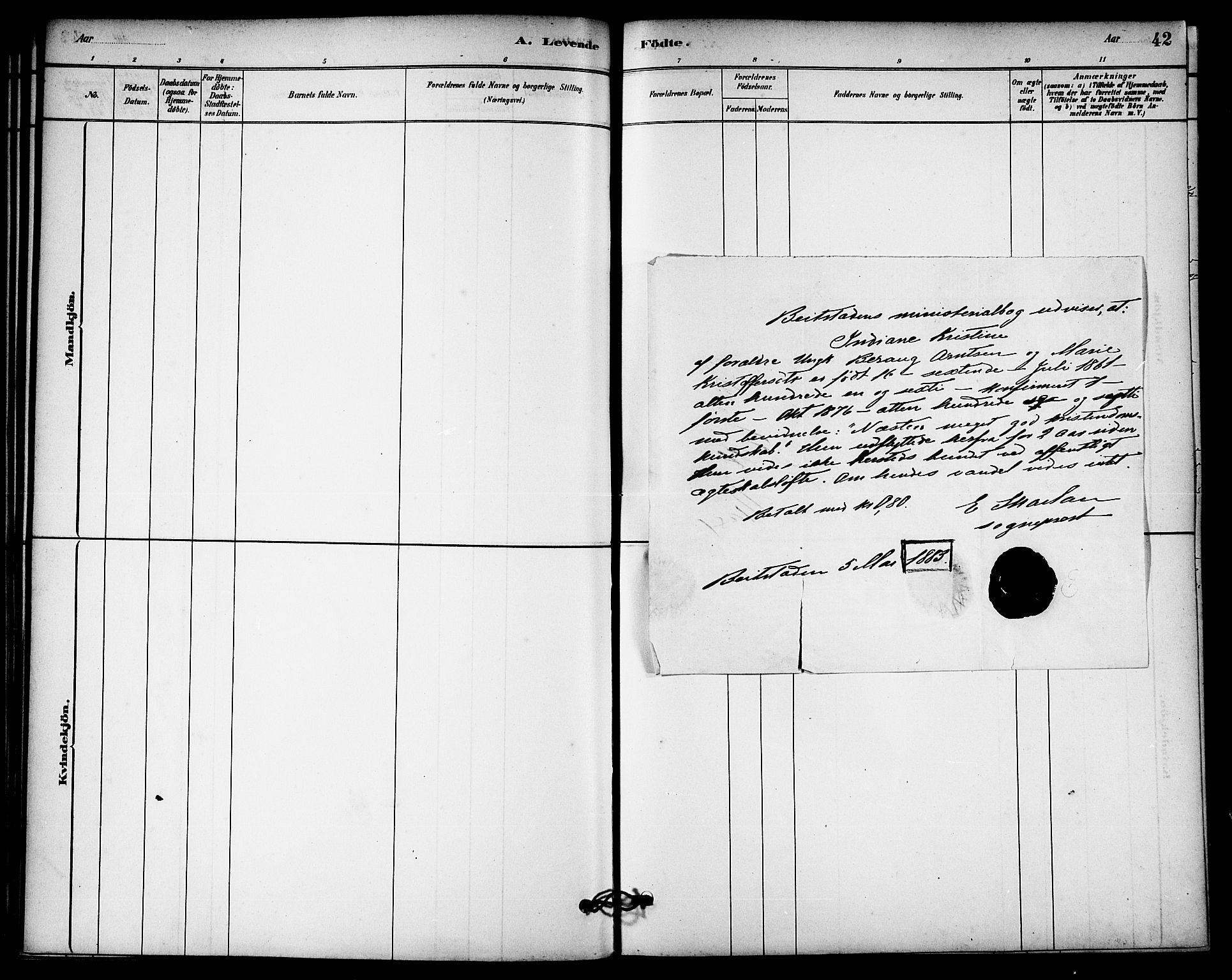 SAT, Ministerialprotokoller, klokkerbøker og fødselsregistre - Nord-Trøndelag, 740/L0378: Ministerialbok nr. 740A01, 1881-1895, s. 32