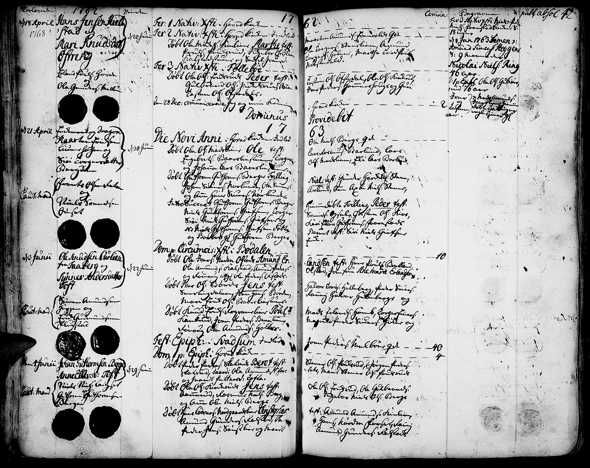 SAH, Gausdal prestekontor, Ministerialbok nr. 3, 1758-1809, s. 42