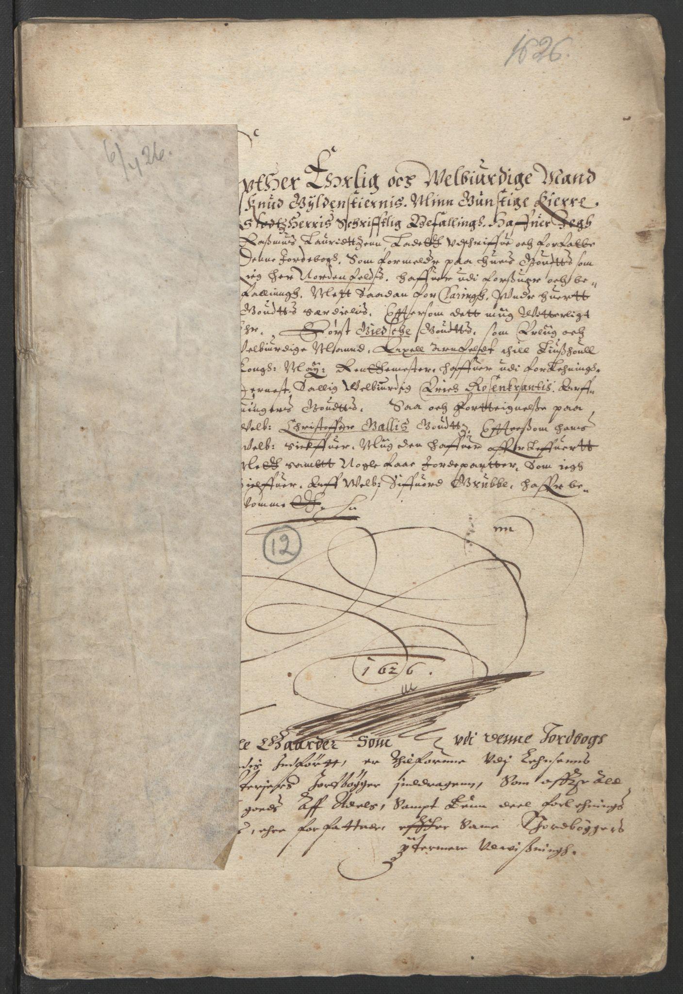 RA, Stattholderembetet 1572-1771, Ek/L0005: Jordebøker til utlikning av garnisonsskatt 1624-1626:, 1626, s. 231