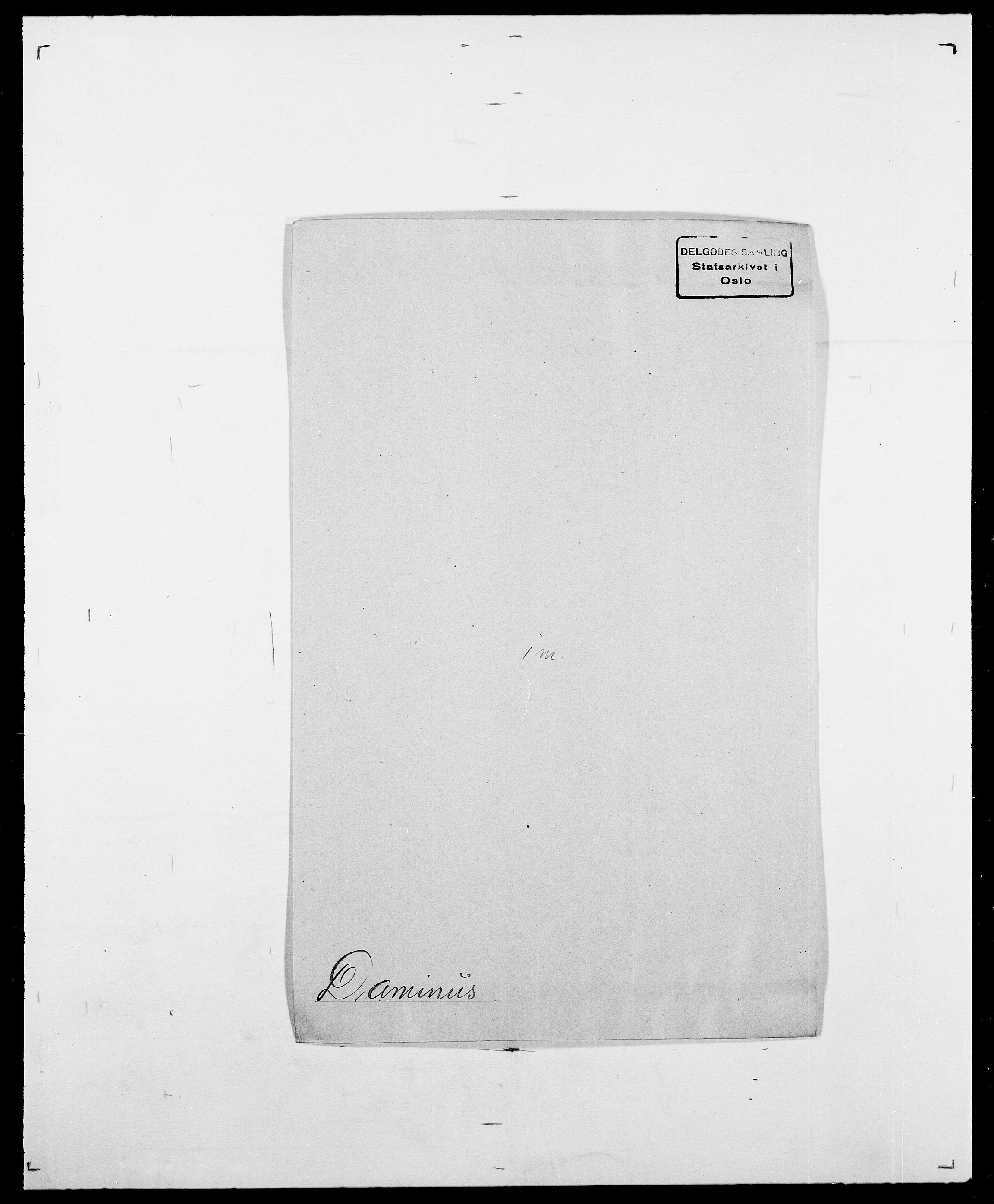SAO, Delgobe, Charles Antoine - samling, D/Da/L0009: Dahl - v. Düren, s. 267