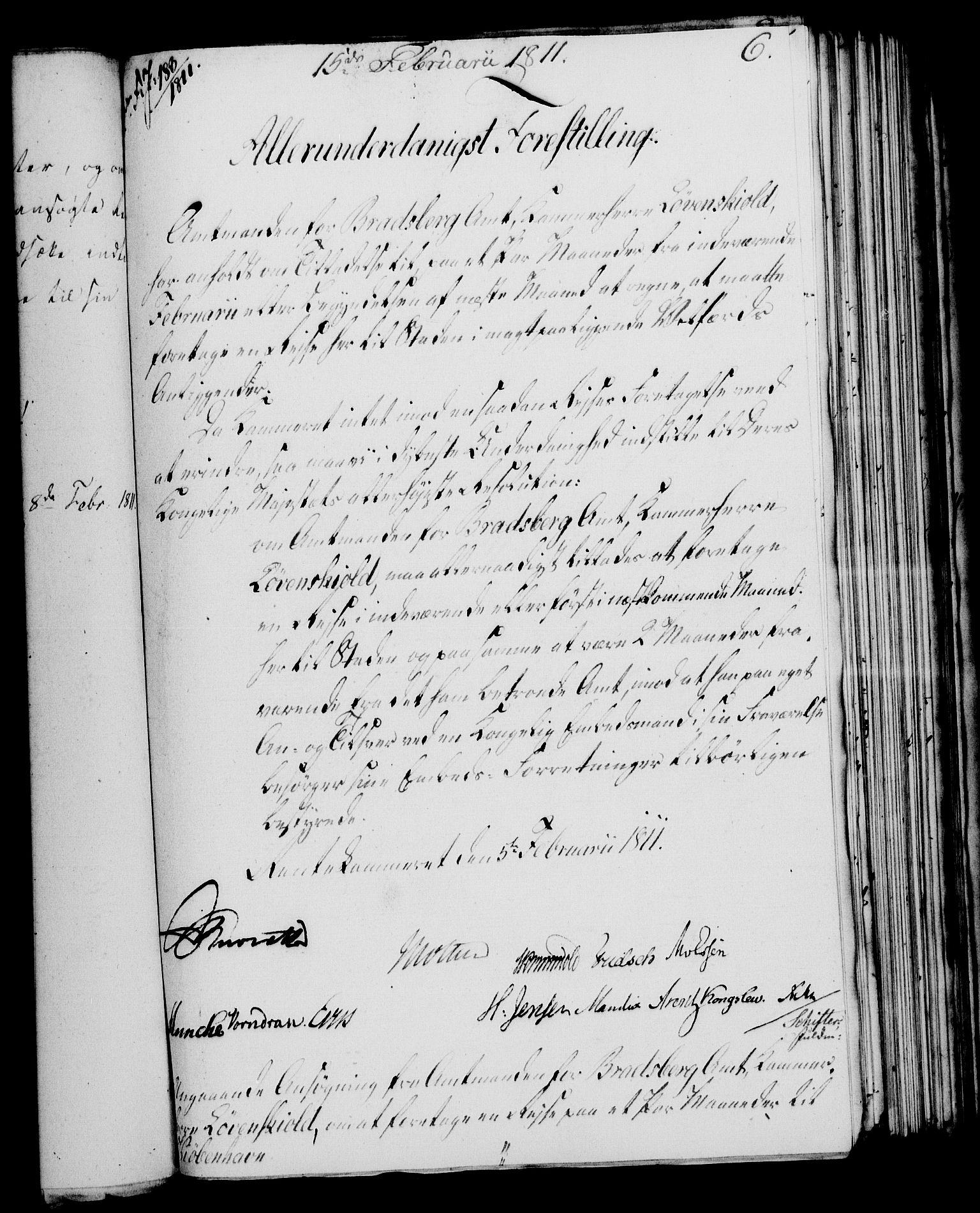 RA, Rentekammeret, Kammerkanselliet, G/Gf/Gfa/L0093: Norsk relasjons- og resolusjonsprotokoll (merket RK 52.93), 1811, s. 45