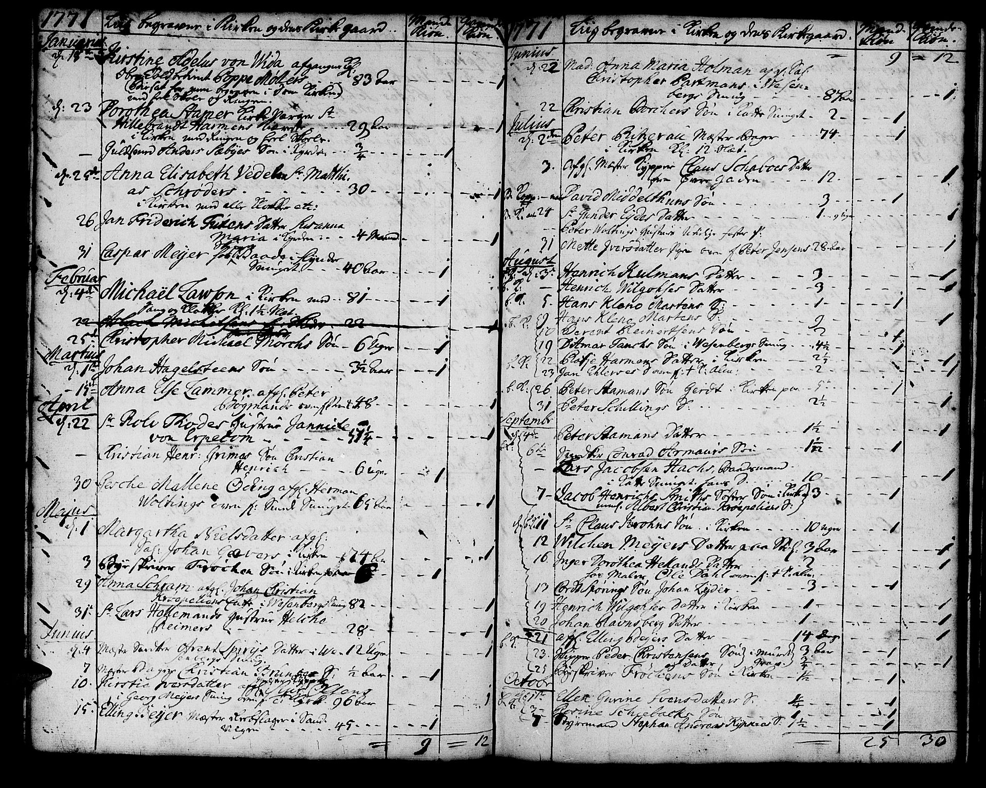 SAB, Korskirken Sokneprestembete, H/Haa/L0011: Ministerialbok nr. A 11, 1731-1785, s. 150