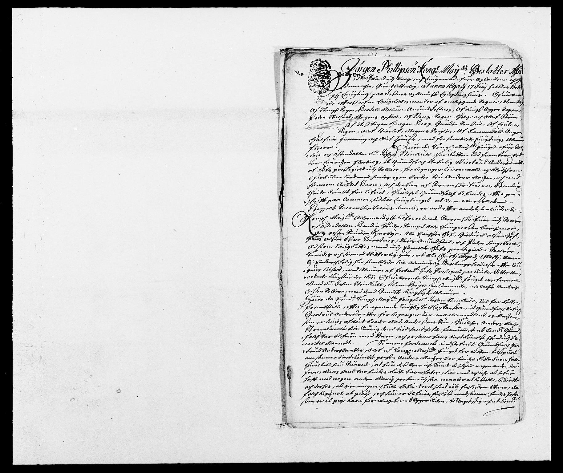 RA, Rentekammeret inntil 1814, Reviderte regnskaper, Fogderegnskap, R13/L0829: Fogderegnskap Solør, Odal og Østerdal, 1691, s. 131