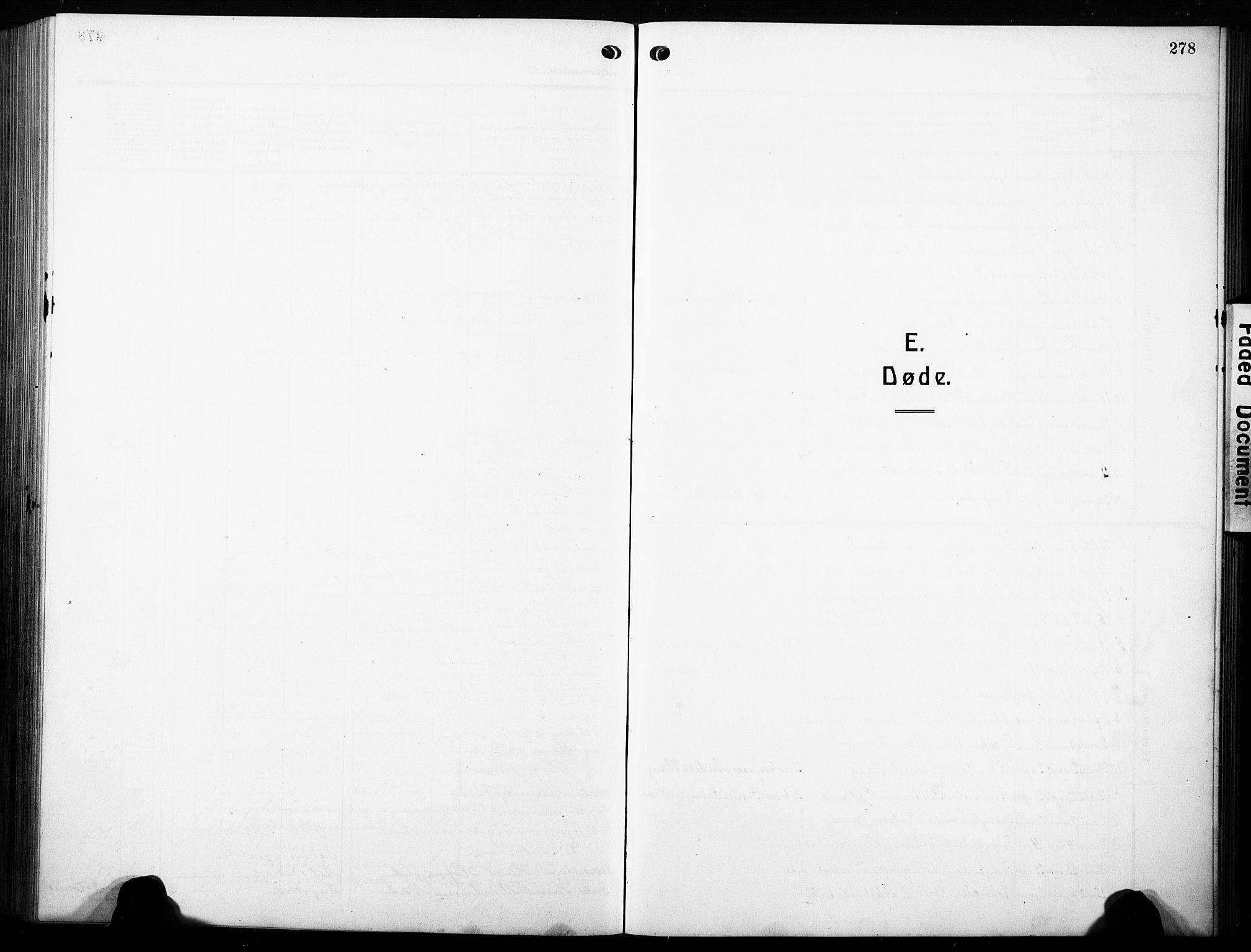 SAH, Østre Toten prestekontor, Klokkerbok nr. 10, 1912-1933, s. 278