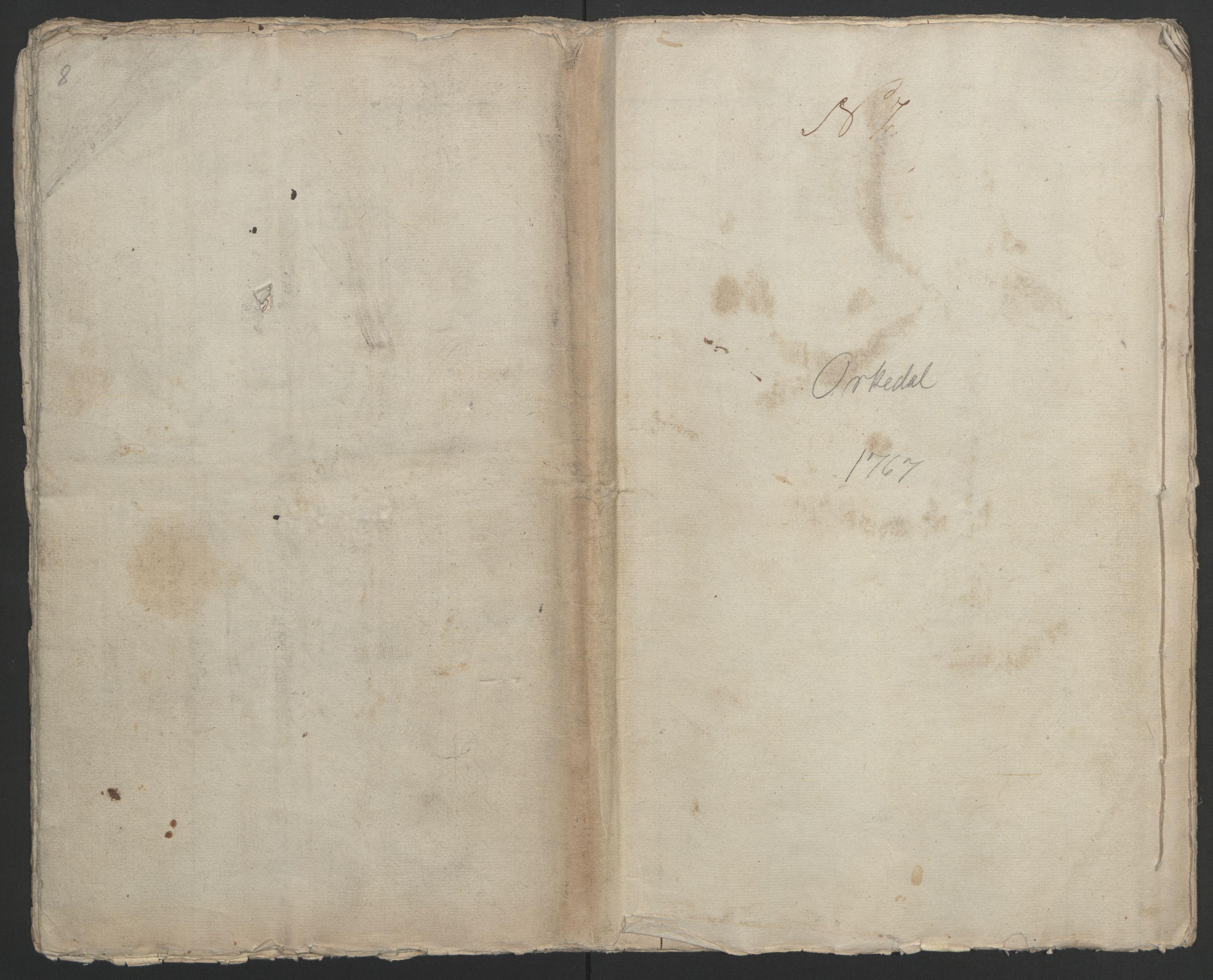 RA, Rentekammeret inntil 1814, Realistisk ordnet avdeling, Ol/L0021: [Gg 10]: Ekstraskatten, 23.09.1762. Orkdal og Gauldal, 1762-1767, s. 632