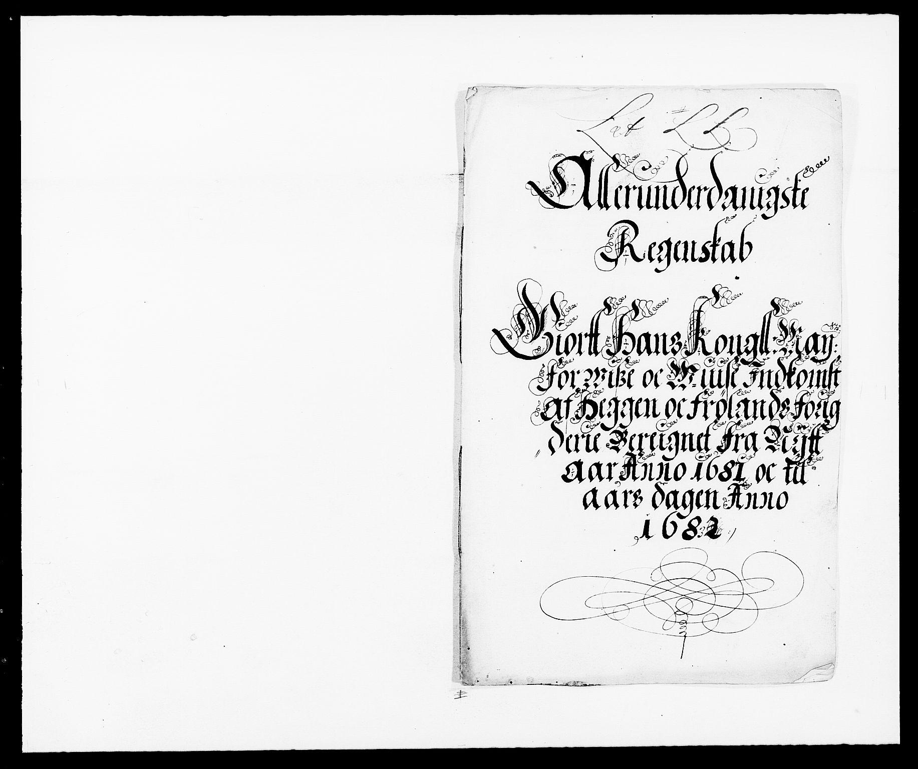 RA, Rentekammeret inntil 1814, Reviderte regnskaper, Fogderegnskap, R06/L0280: Fogderegnskap Heggen og Frøland, 1681-1684, s. 176