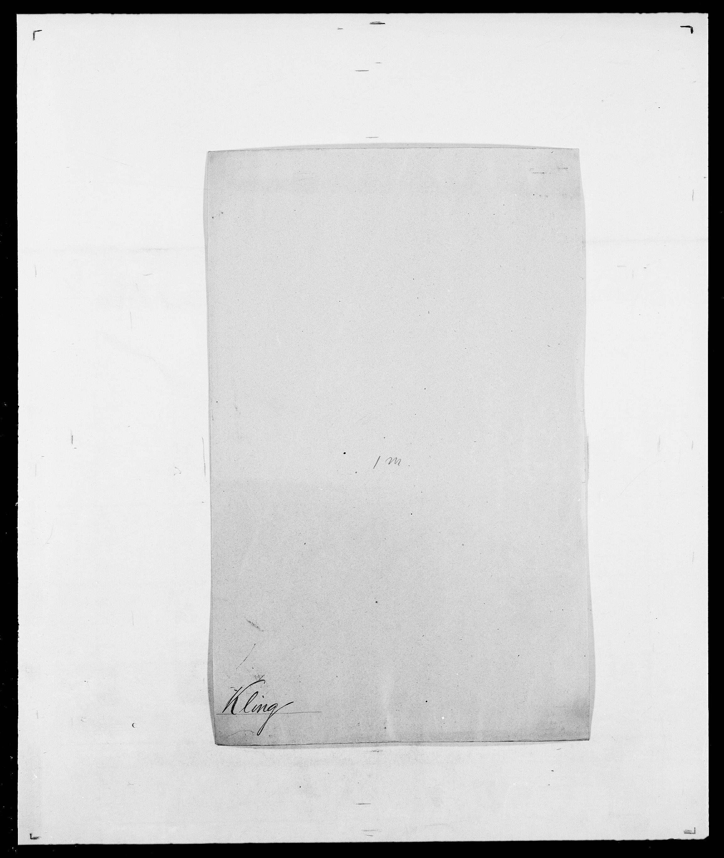 SAO, Delgobe, Charles Antoine - samling, D/Da/L0021: Klagenberg - Kristoft, s. 78