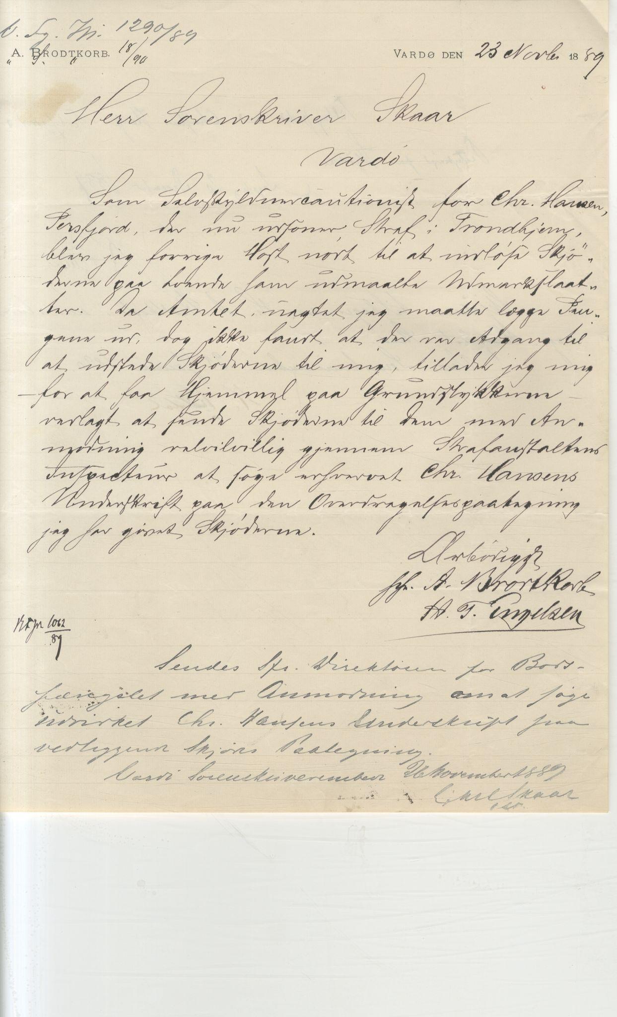 VAMU, Brodtkorb handel A/S, Q/Qb/L0003: Faste eiendommer i Vardø Herred, 1862-1939, s. 51