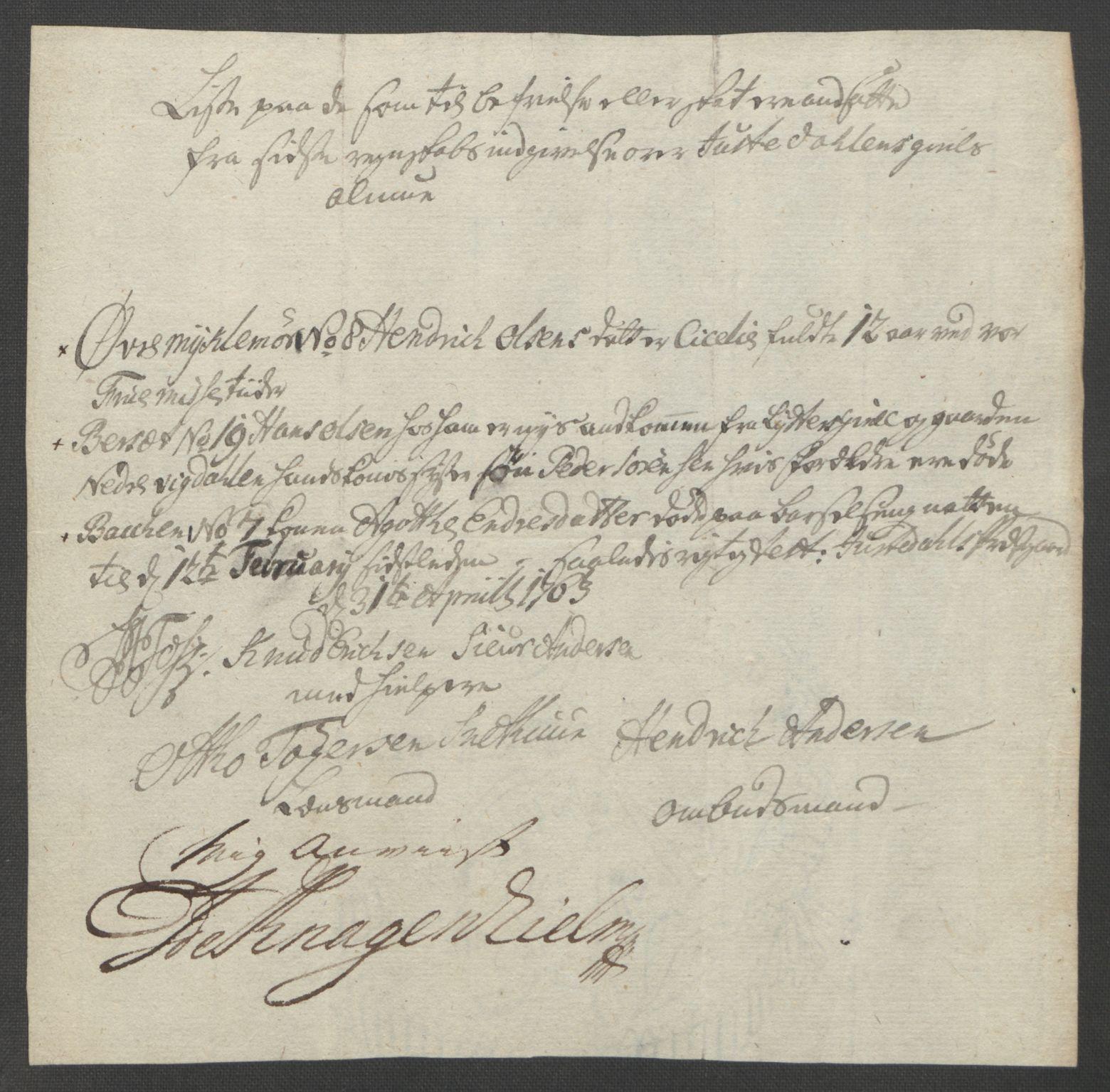RA, Rentekammeret inntil 1814, Reviderte regnskaper, Fogderegnskap, R52/L3418: Ekstraskatten Sogn, 1762-1769, s. 131