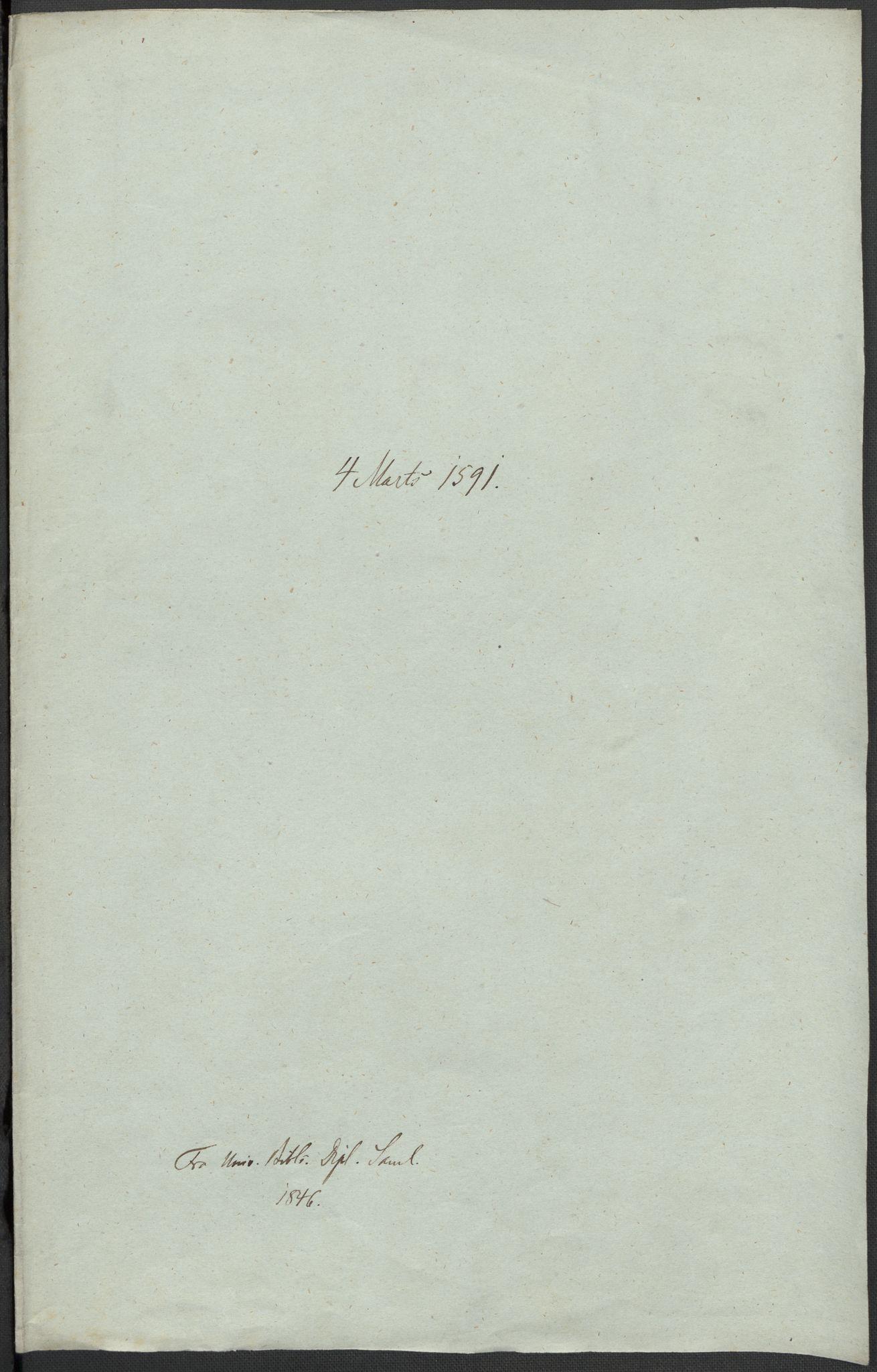 RA, Riksarkivets diplomsamling, F02/L0093: Dokumenter, 1591, s. 47