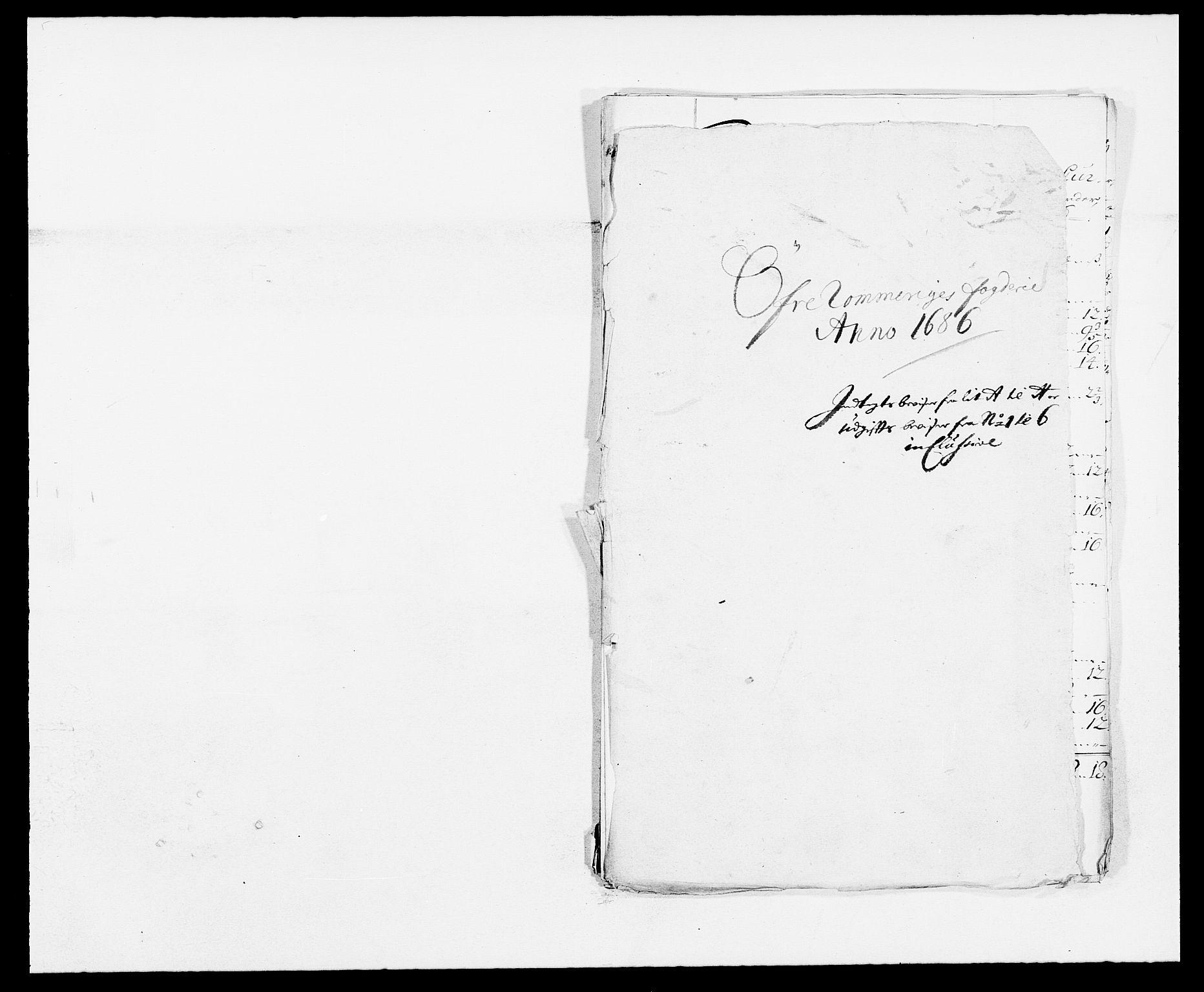 RA, Rentekammeret inntil 1814, Reviderte regnskaper, Fogderegnskap, R12/L0699: Fogderegnskap Øvre Romerike, 1685-1686, s. 324