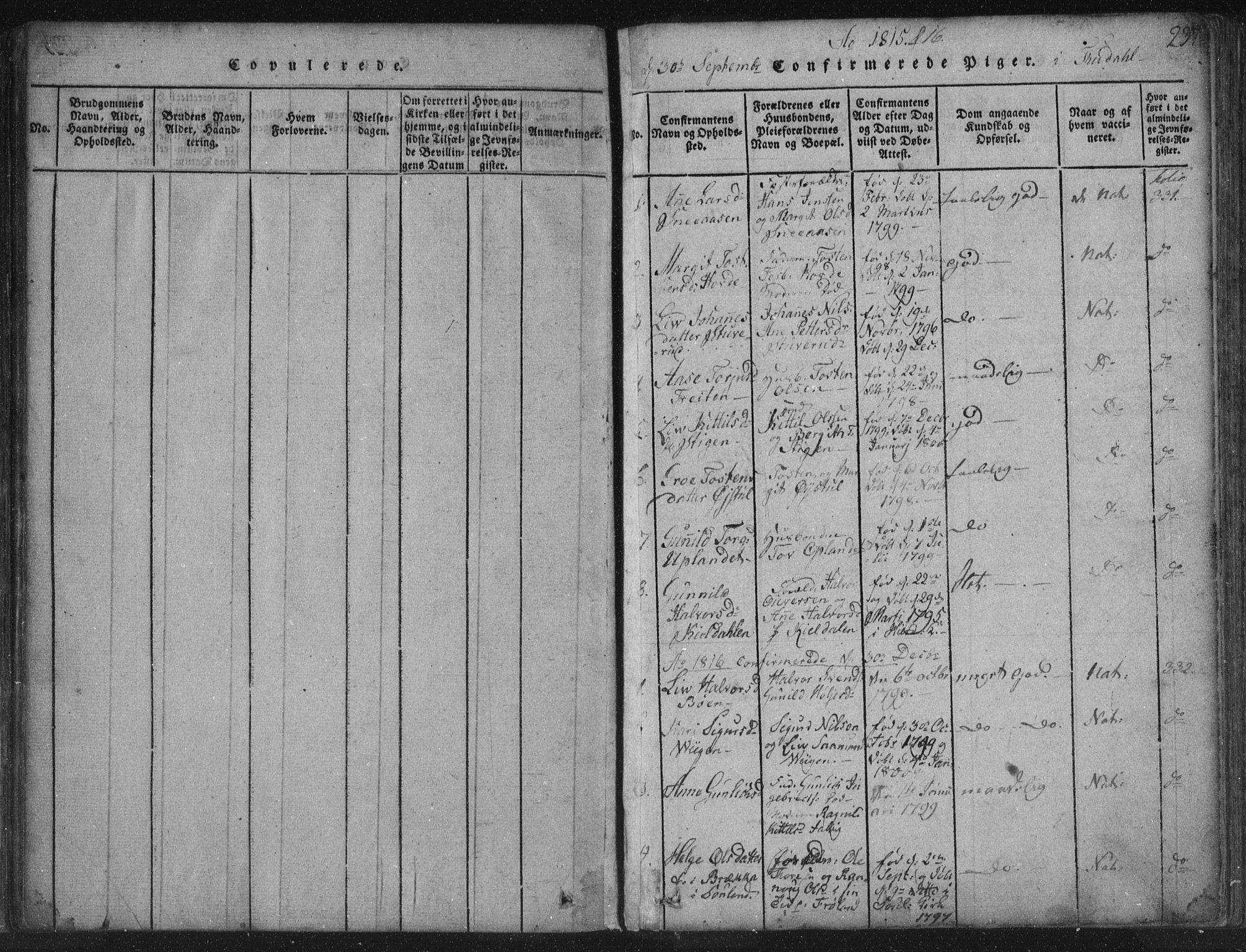 SAKO, Hjartdal kirkebøker, F/Fc/L0001: Ministerialbok nr. III 1, 1815-1843, s. 237