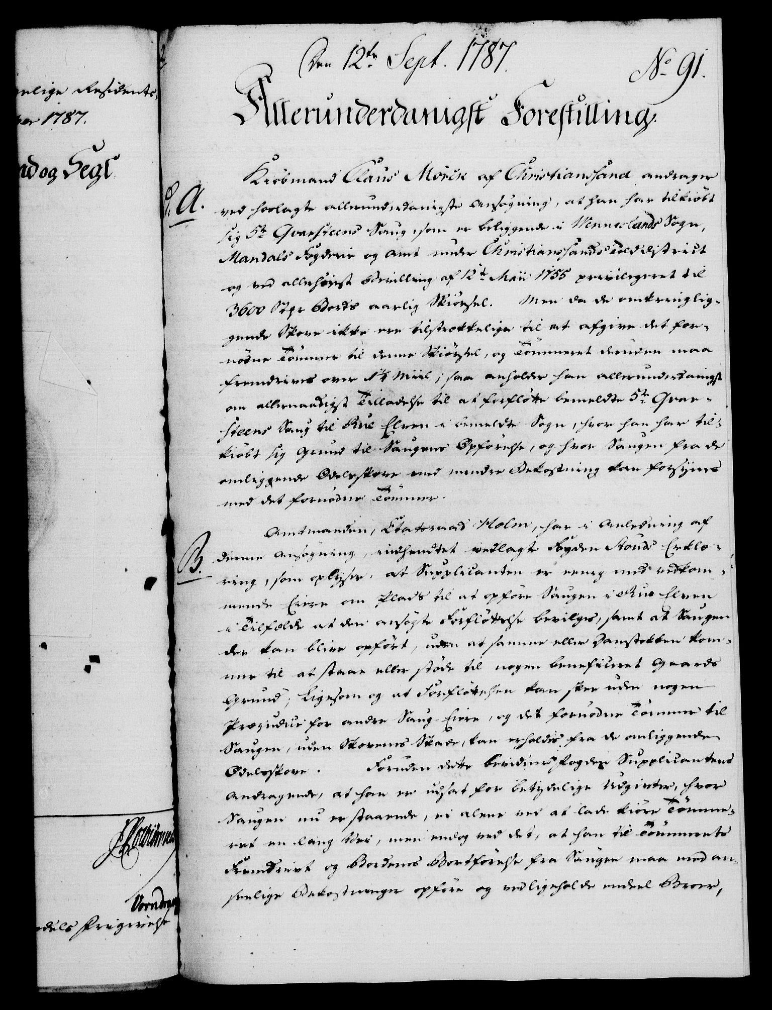 RA, Rentekammeret, Kammerkanselliet, G/Gf/Gfa/L0069: Norsk relasjons- og resolusjonsprotokoll (merket RK 52.69), 1787, s. 987