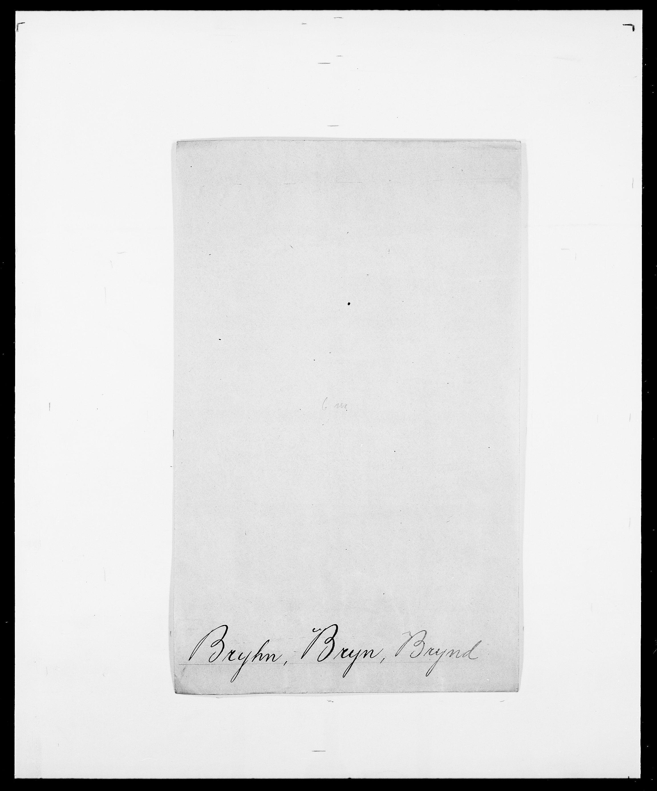 SAO, Delgobe, Charles Antoine - samling, D/Da/L0006: Brambani - Brønø, s. 905