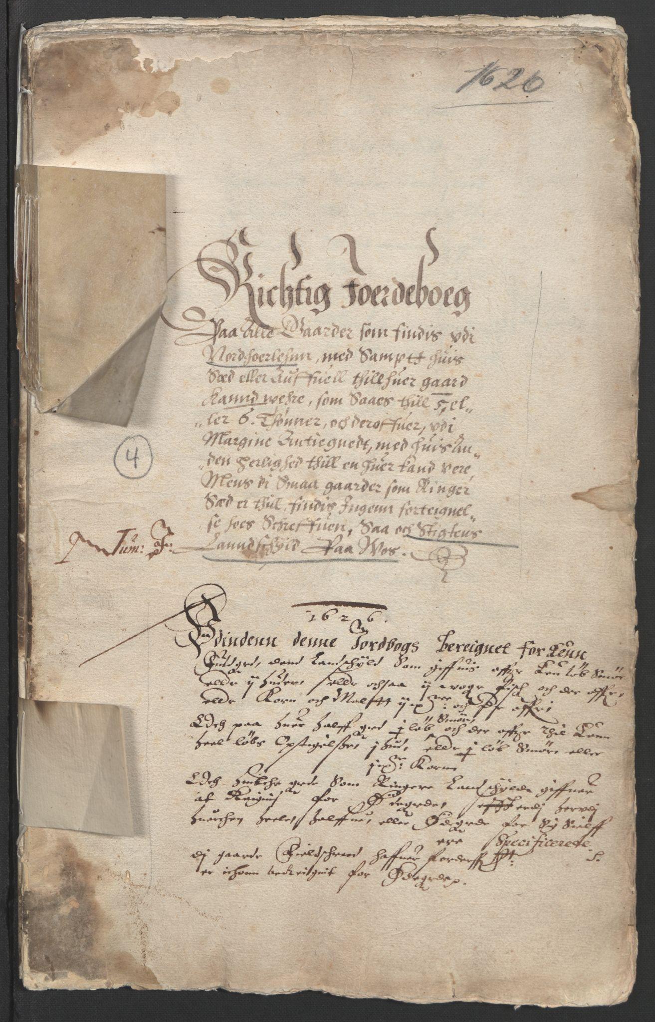 RA, Stattholderembetet 1572-1771, Ek/L0004: Jordebøker til utlikning av garnisonsskatt 1624-1626:, 1626, s. 130