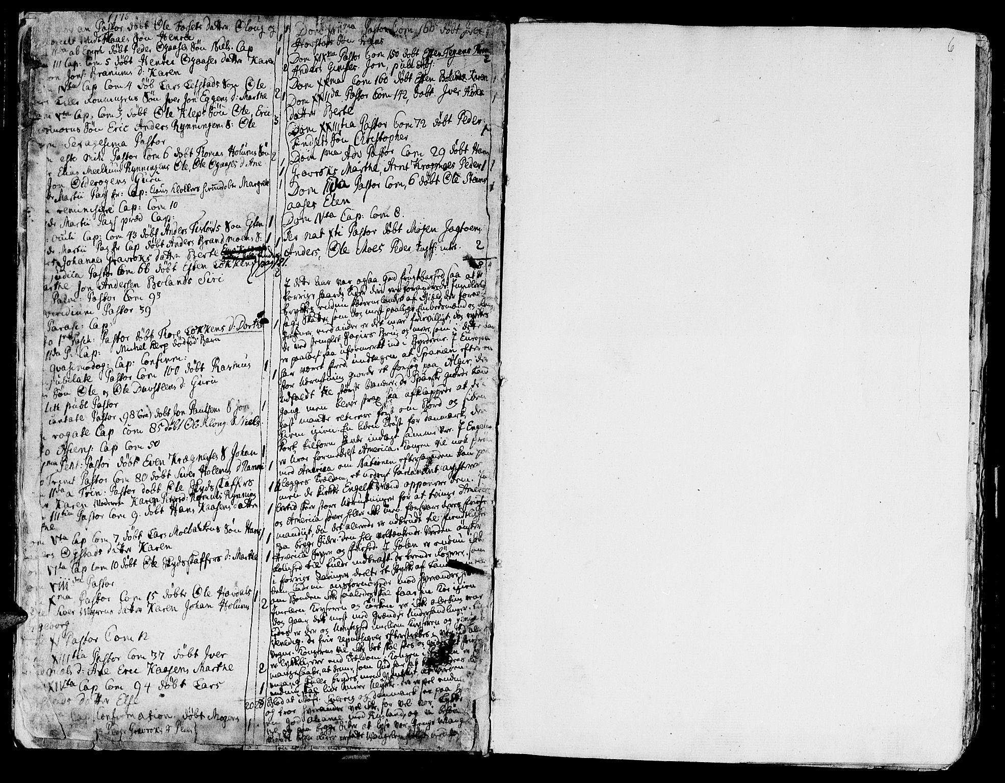 SAT, Ministerialprotokoller, klokkerbøker og fødselsregistre - Sør-Trøndelag, 691/L1061: Ministerialbok nr. 691A02 /1, 1768-1815, s. 6