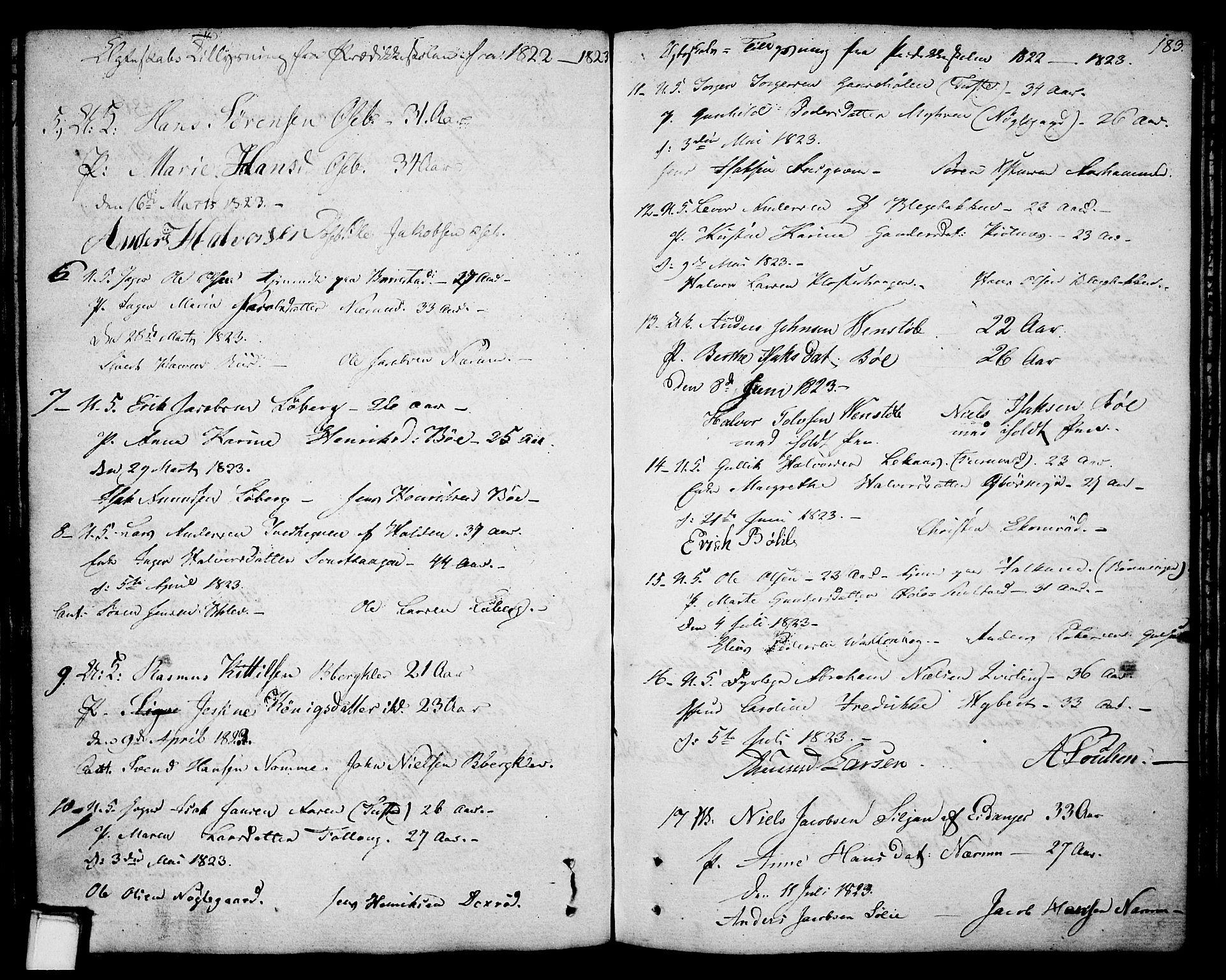 SAKO, Gjerpen kirkebøker, F/Fa/L0003: Ministerialbok nr. 3, 1796-1814, s. 183