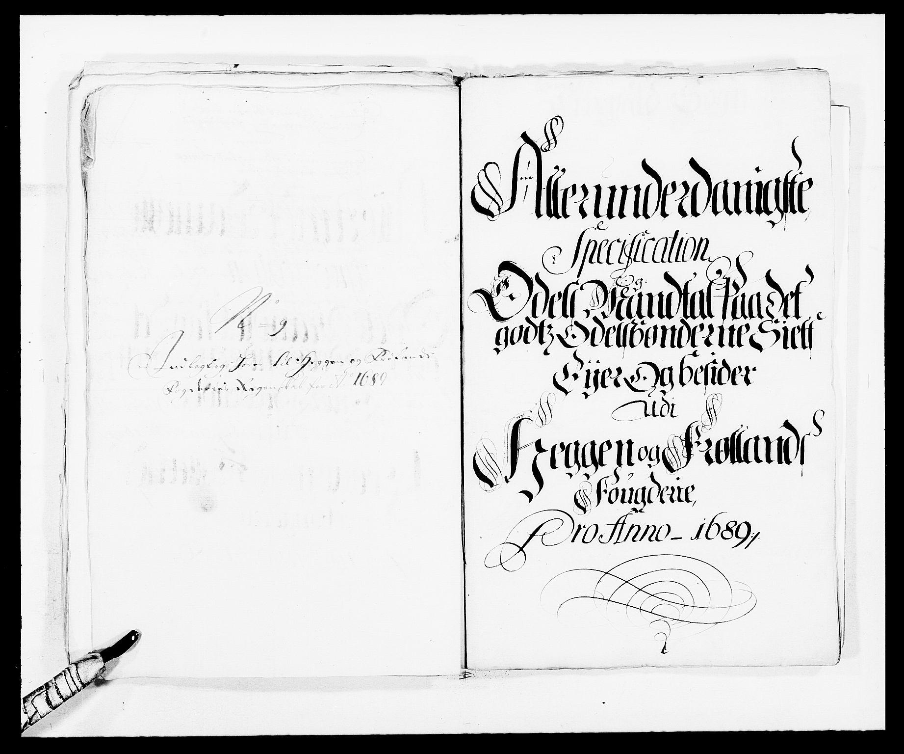 RA, Rentekammeret inntil 1814, Reviderte regnskaper, Fogderegnskap, R06/L0282: Fogderegnskap Heggen og Frøland, 1687-1690, s. 176