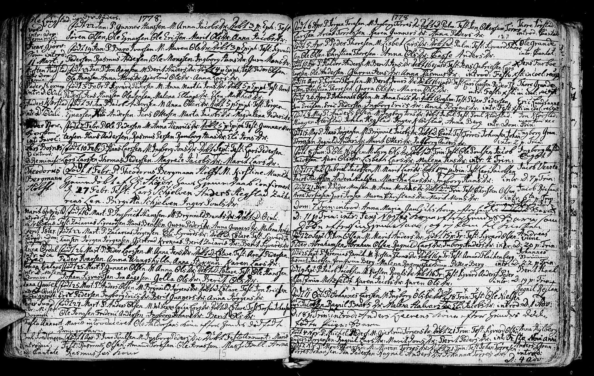 SAT, Ministerialprotokoller, klokkerbøker og fødselsregistre - Nord-Trøndelag, 730/L0273: Ministerialbok nr. 730A02, 1762-1802, s. 127