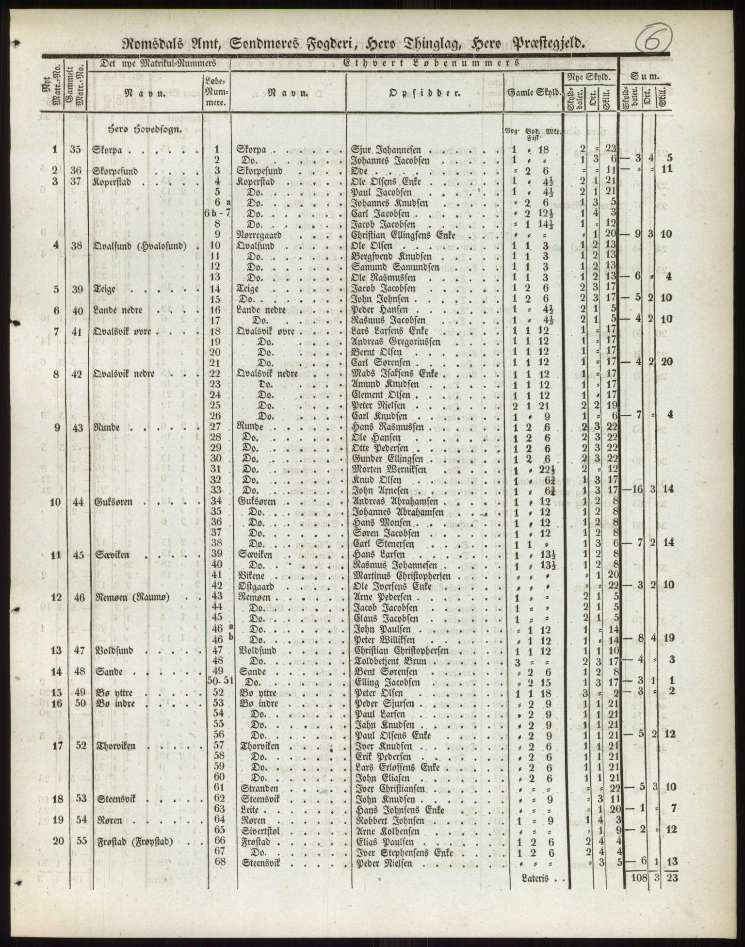 PUBL, Andre publikasjoner, -/Bind 14: Romsdals amt, 1838, s. 10