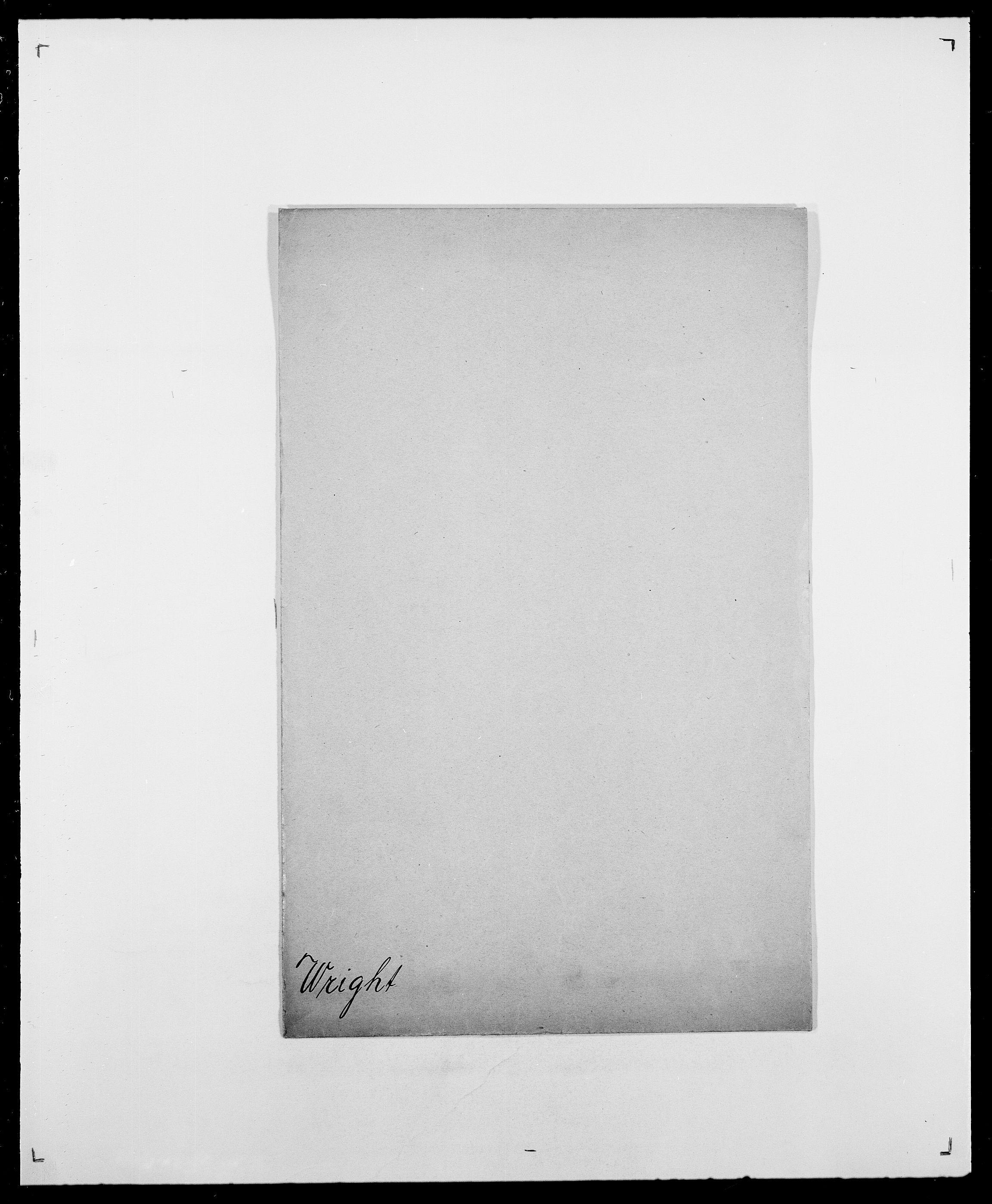SAO, Delgobe, Charles Antoine - samling, D/Da/L0042: Vilain - Wulf, Wulff, se også Wolf, s. 760