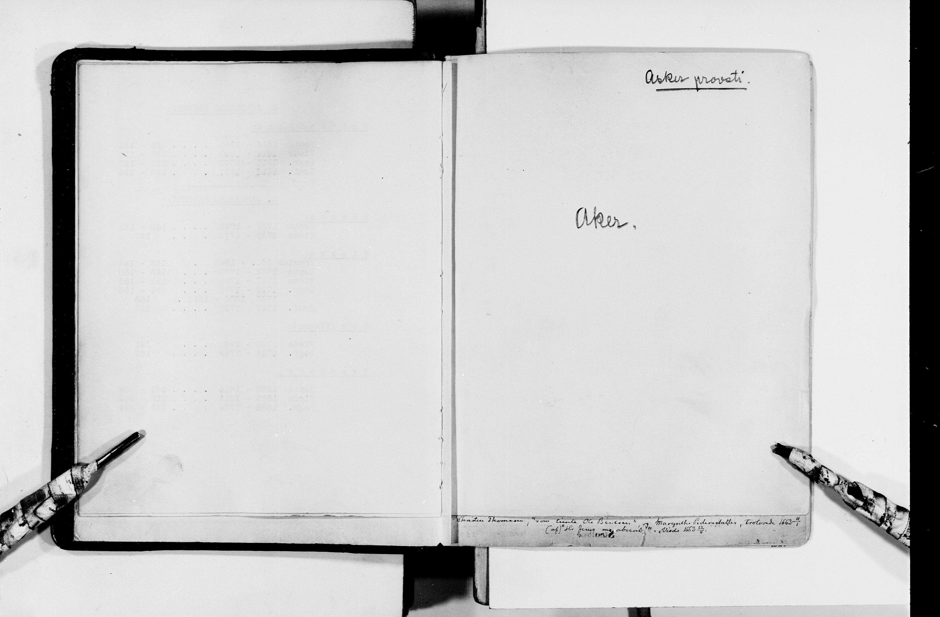 RA, Lassens samlinger, F/Fc, s. upaginert