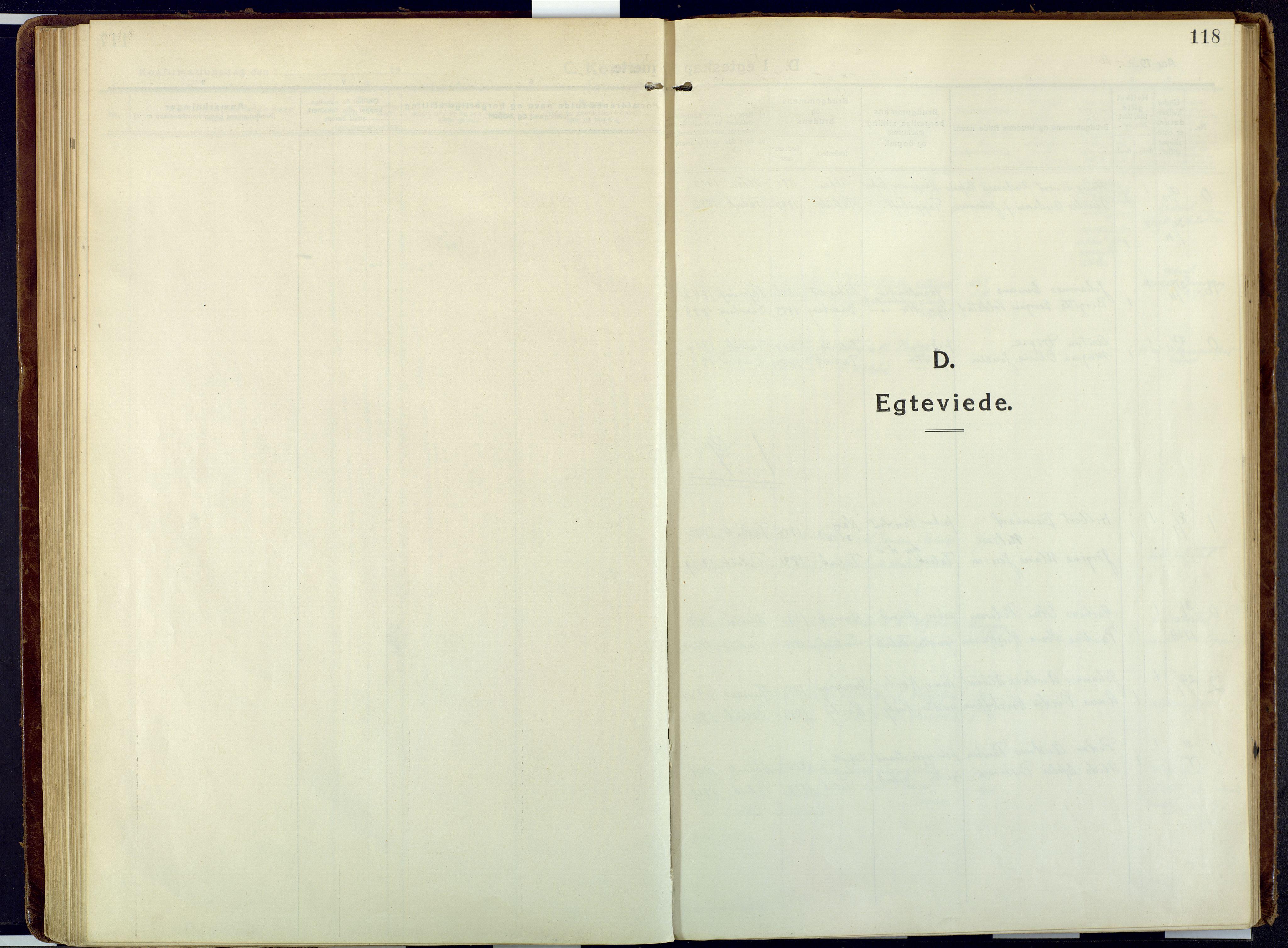 SATØ, Talvik sokneprestkontor, H/Ha/L0018kirke: Ministerialbok nr. 18, 1915-1924, s. 118