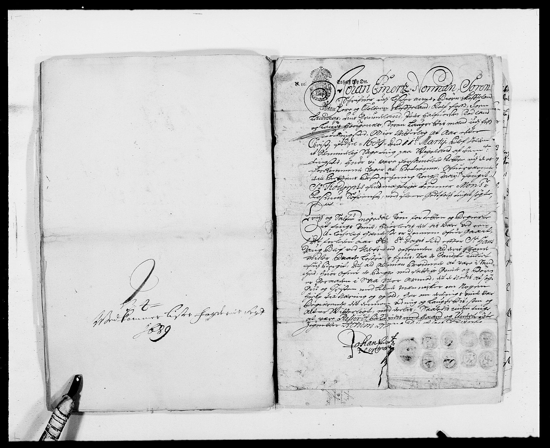 RA, Rentekammeret inntil 1814, Reviderte regnskaper, Fogderegnskap, R41/L2535: Fogderegnskap Lista, 1686-1689, s. 76