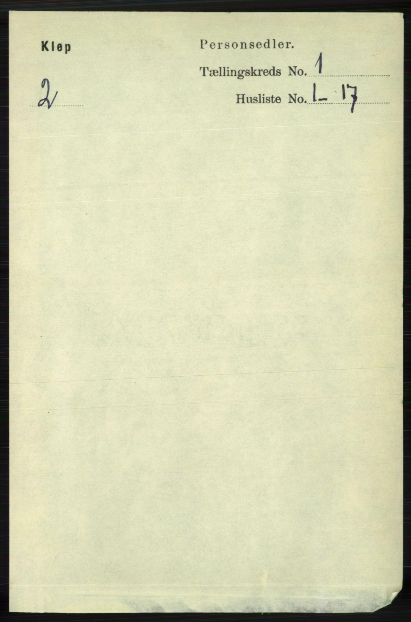 RA, Folketelling 1891 for 1120 Klepp herred, 1891, s. 64