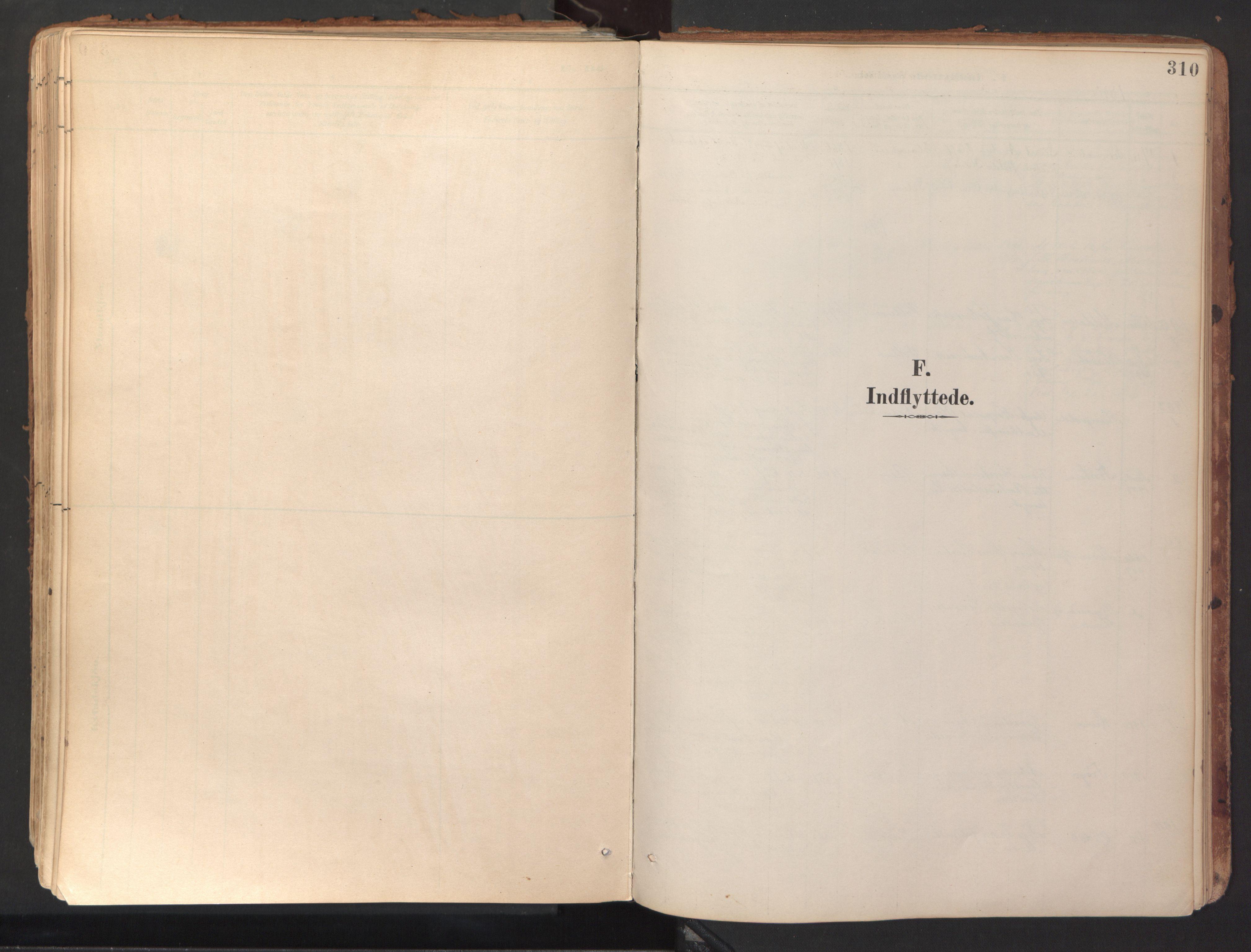 SAT, Ministerialprotokoller, klokkerbøker og fødselsregistre - Sør-Trøndelag, 689/L1041: Ministerialbok nr. 689A06, 1891-1923, s. 310