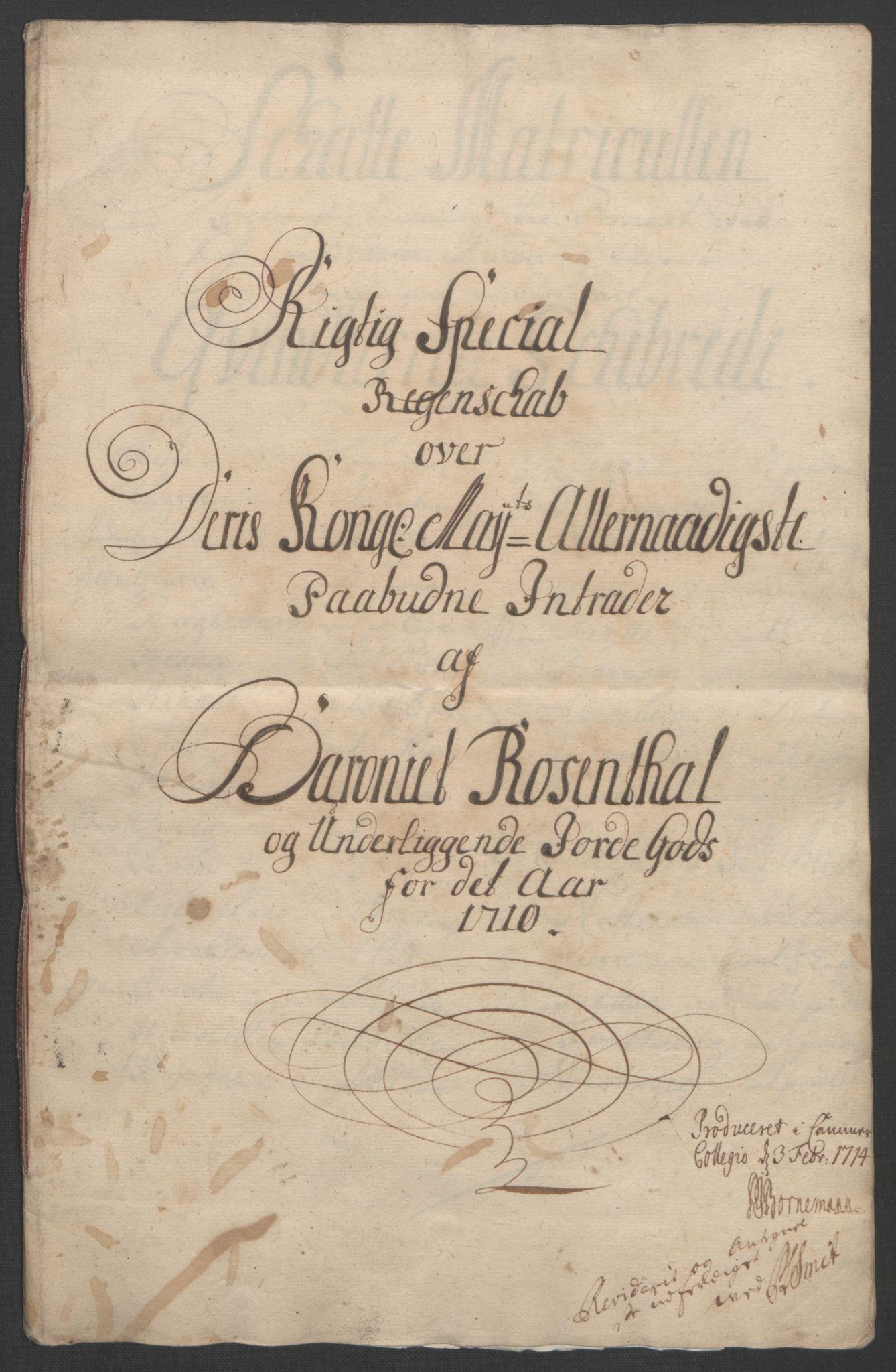 RA, Rentekammeret inntil 1814, Reviderte regnskaper, Fogderegnskap, R49/L3138: Fogderegnskap Rosendal Baroni, 1691-1714, s. 233