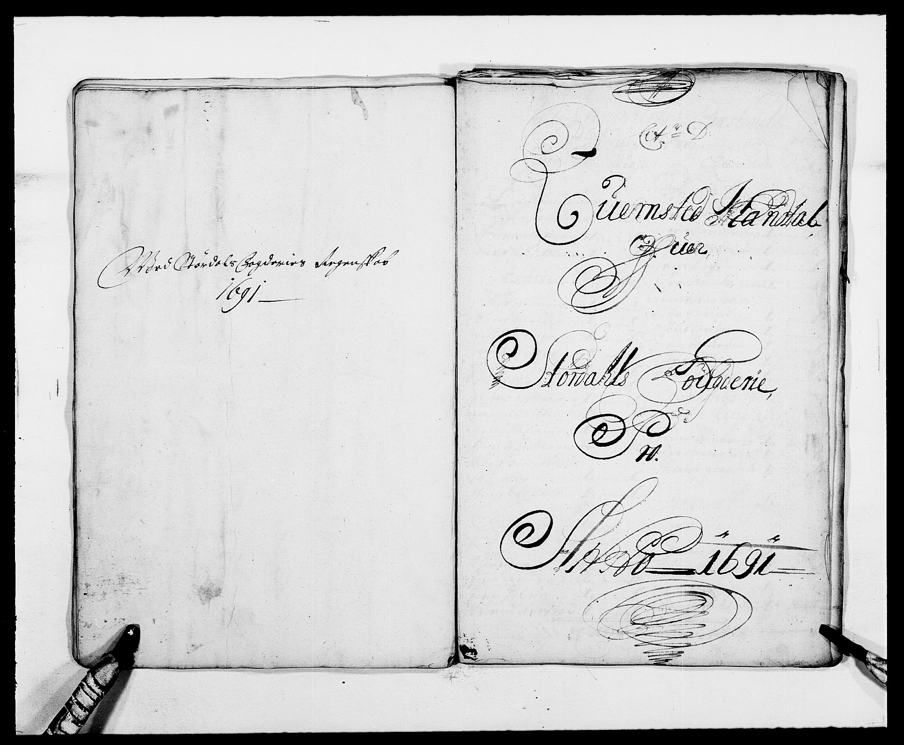 RA, Rentekammeret inntil 1814, Reviderte regnskaper, Fogderegnskap, R62/L4184: Fogderegnskap Stjørdal og Verdal, 1690-1691, s. 314