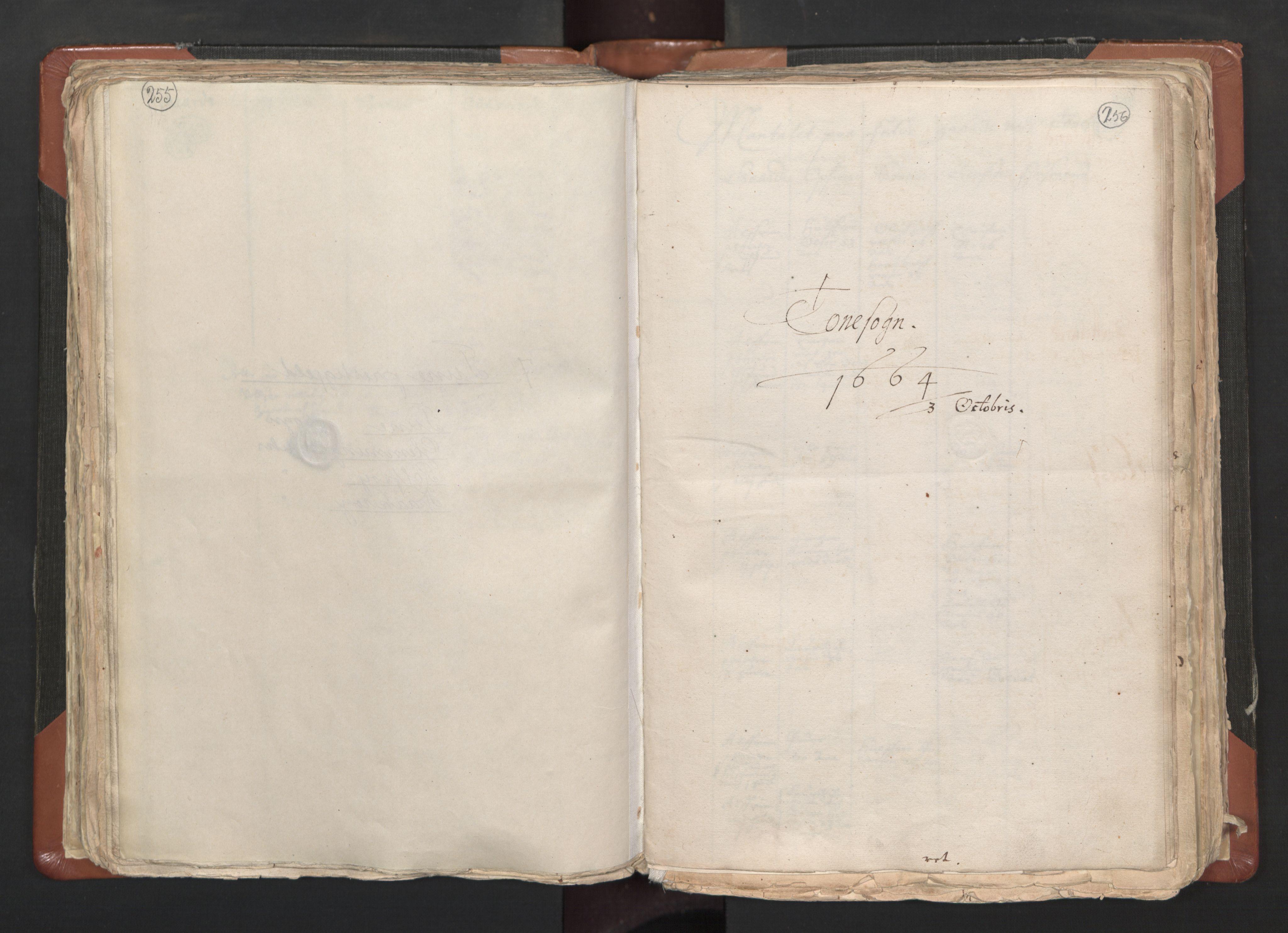 RA, Sogneprestenes manntall 1664-1666, nr. 1: Nedre Borgesyssel prosti, 1664-1666, s. 255-256
