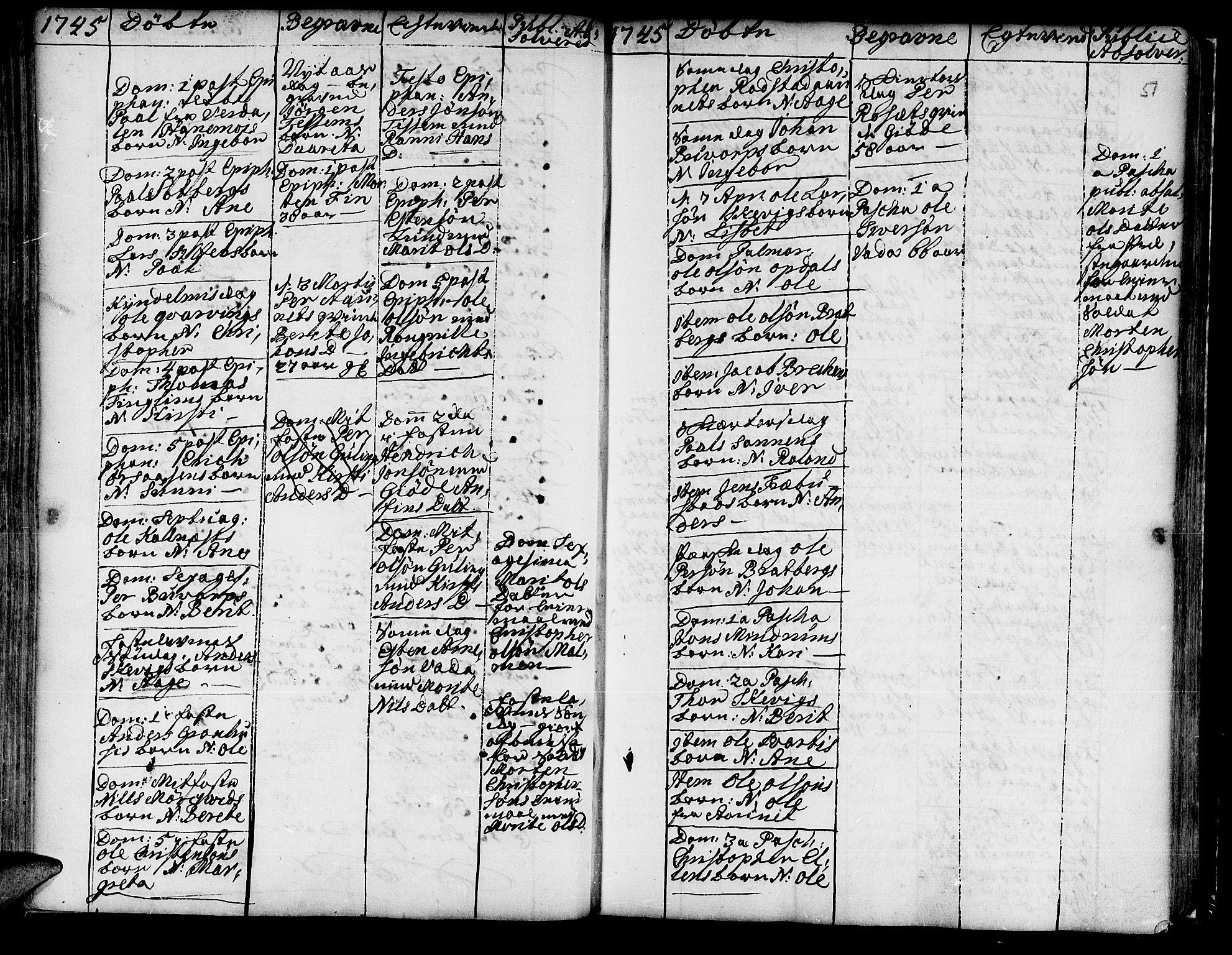SAT, Ministerialprotokoller, klokkerbøker og fødselsregistre - Nord-Trøndelag, 741/L0385: Ministerialbok nr. 741A01, 1722-1815, s. 51