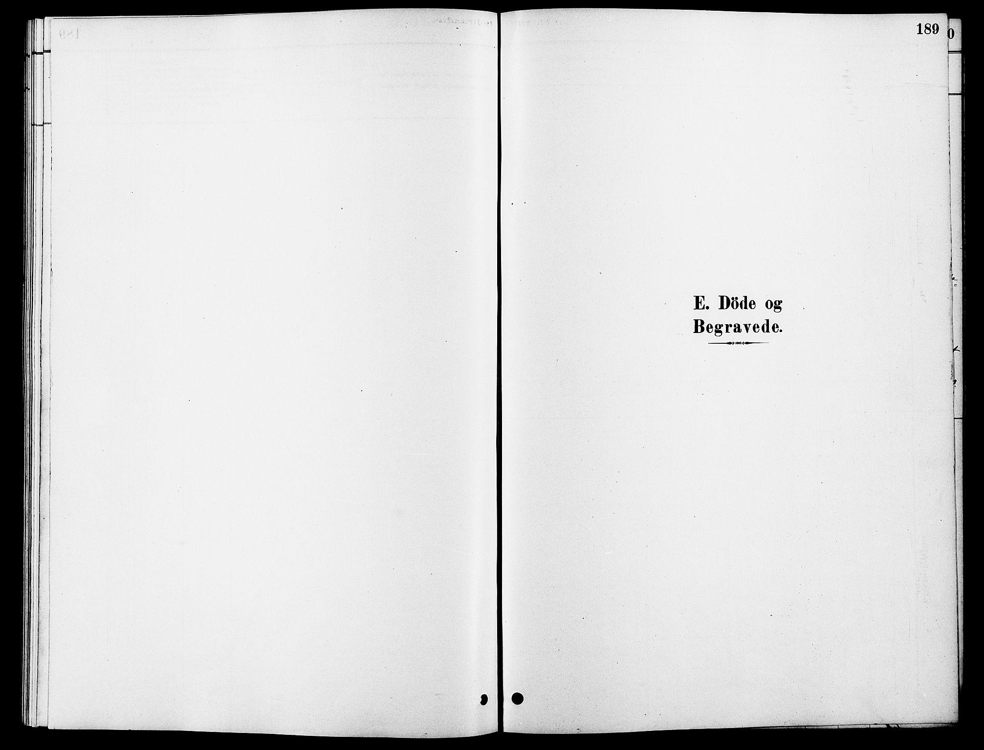 SAH, Rendalen prestekontor, H/Ha/Hab/L0003: Klokkerbok nr. 3, 1879-1904, s. 189
