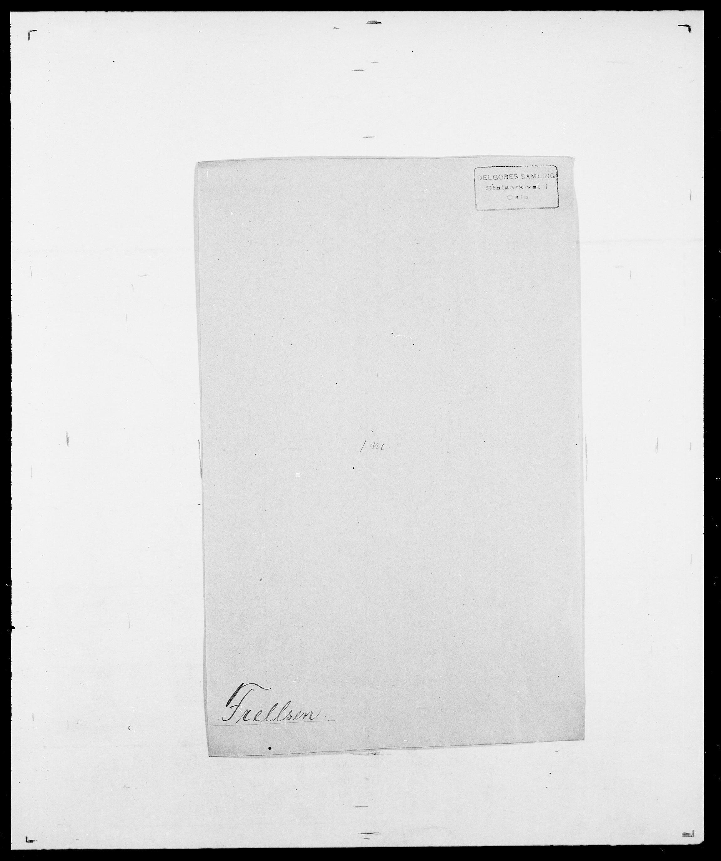 SAO, Delgobe, Charles Antoine - samling, D/Da/L0012: Flor, Floer, Flohr - Fritzner, s. 739