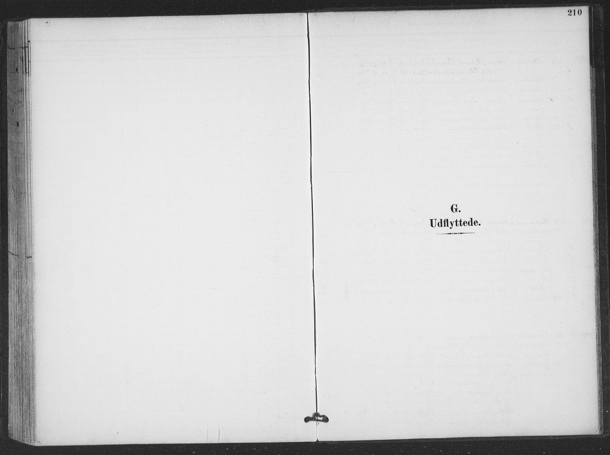 SAT, Ministerialprotokoller, klokkerbøker og fødselsregistre - Nordland, 866/L0939: Ministerialbok nr. 866A02, 1894-1906, s. 210