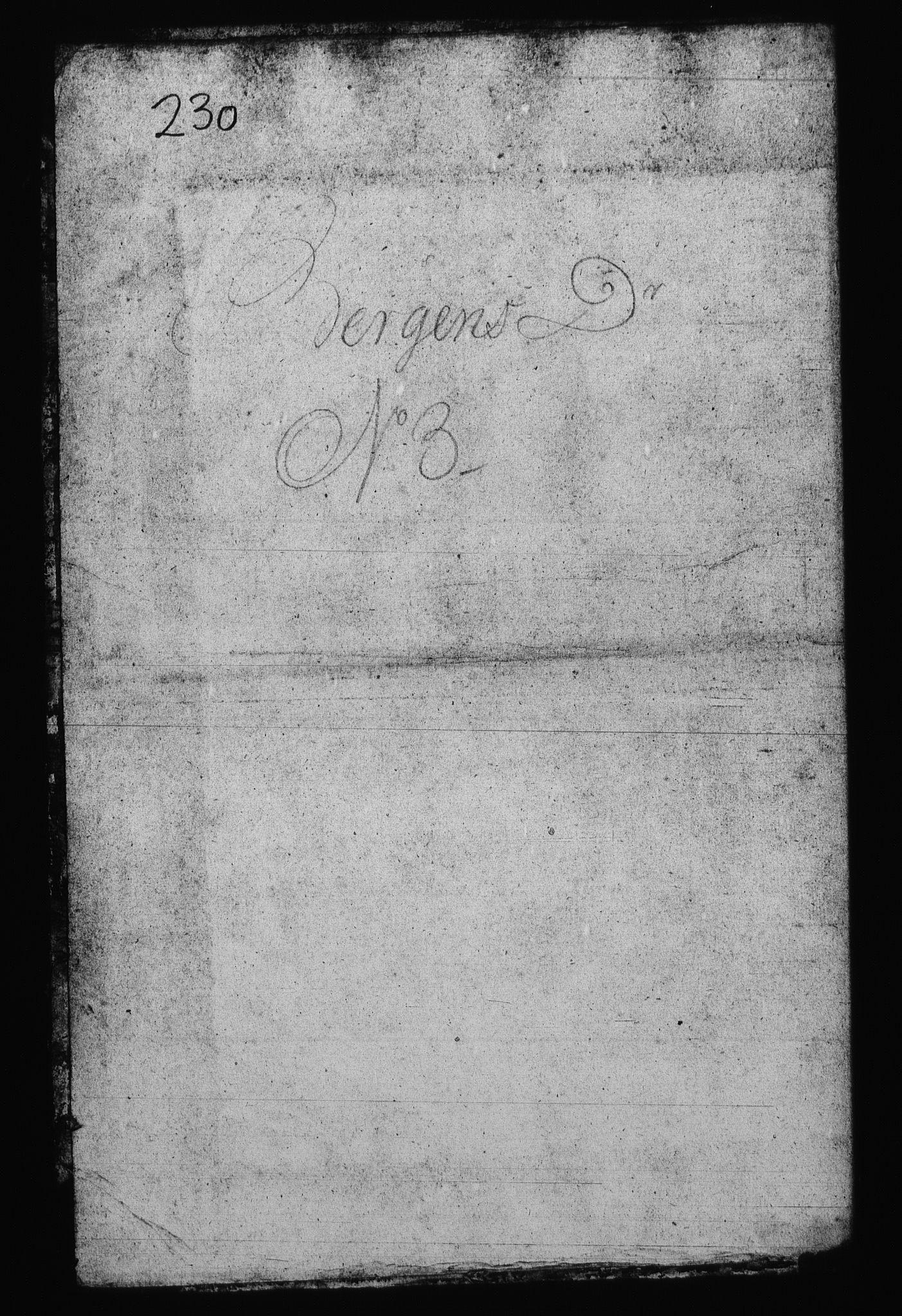 RA, Sjøetaten, F/L0231: Bergen distrikt, bind 3, 1800