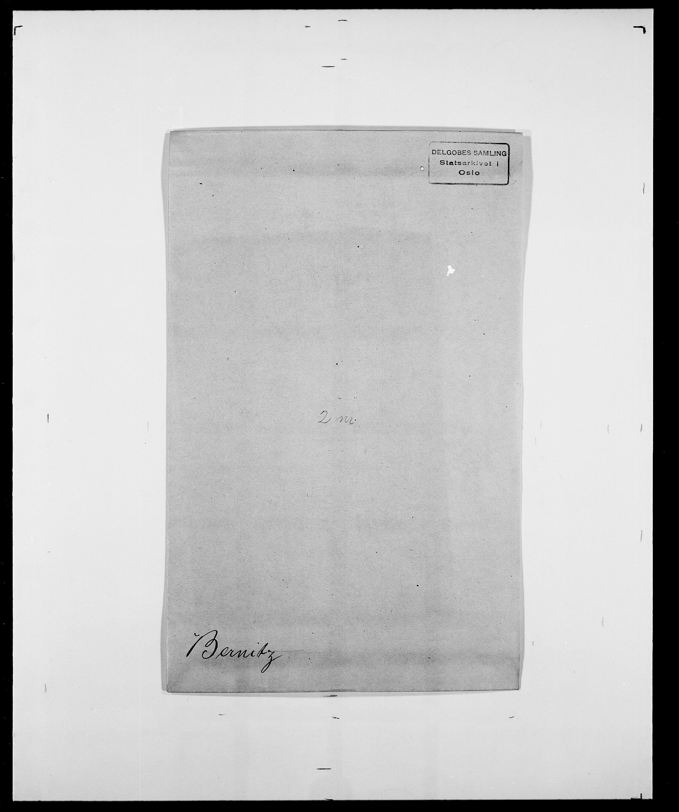 SAO, Delgobe, Charles Antoine - samling, D/Da/L0004: Bergendahl - Blære, s. 96