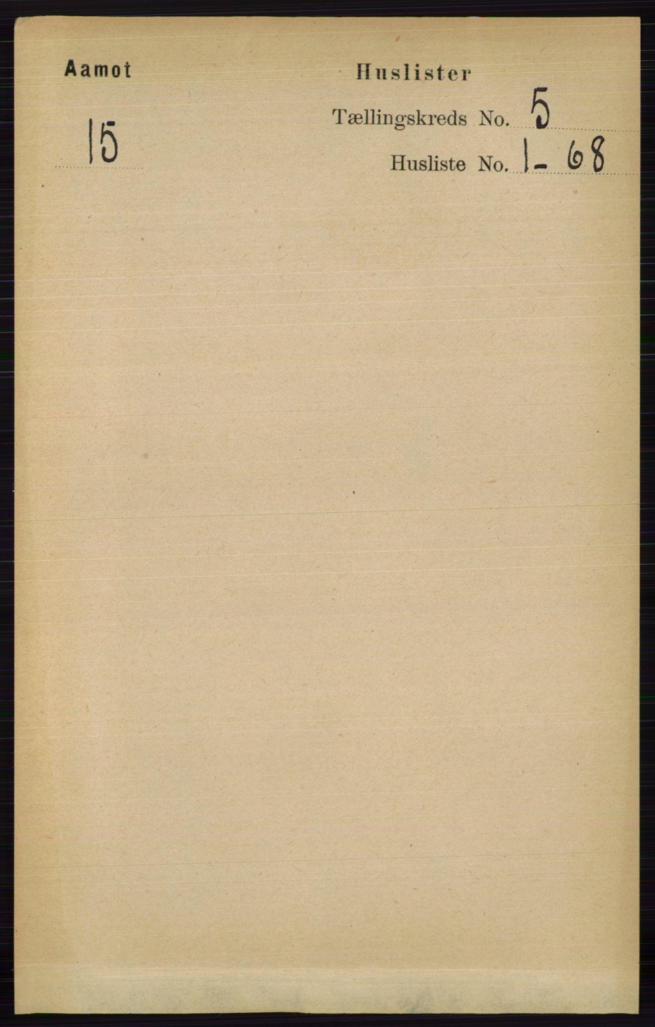 RA, Folketelling 1891 for 0429 Åmot herred, 1891, s. 2253