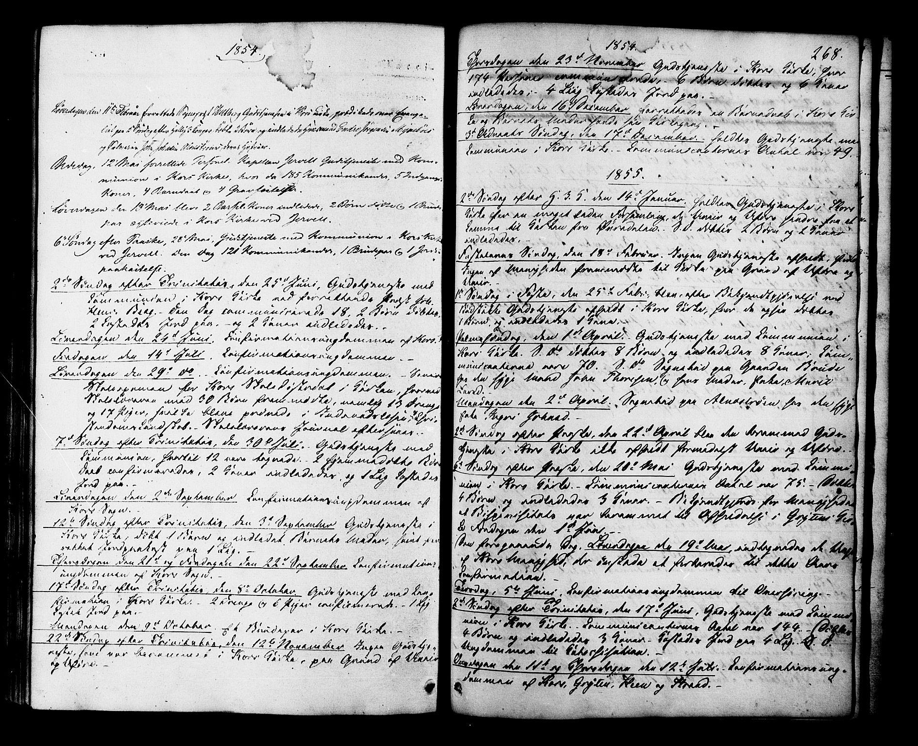SAT, Ministerialprotokoller, klokkerbøker og fødselsregistre - Møre og Romsdal, 546/L0594: Ministerialbok nr. 546A02, 1854-1882, s. 268